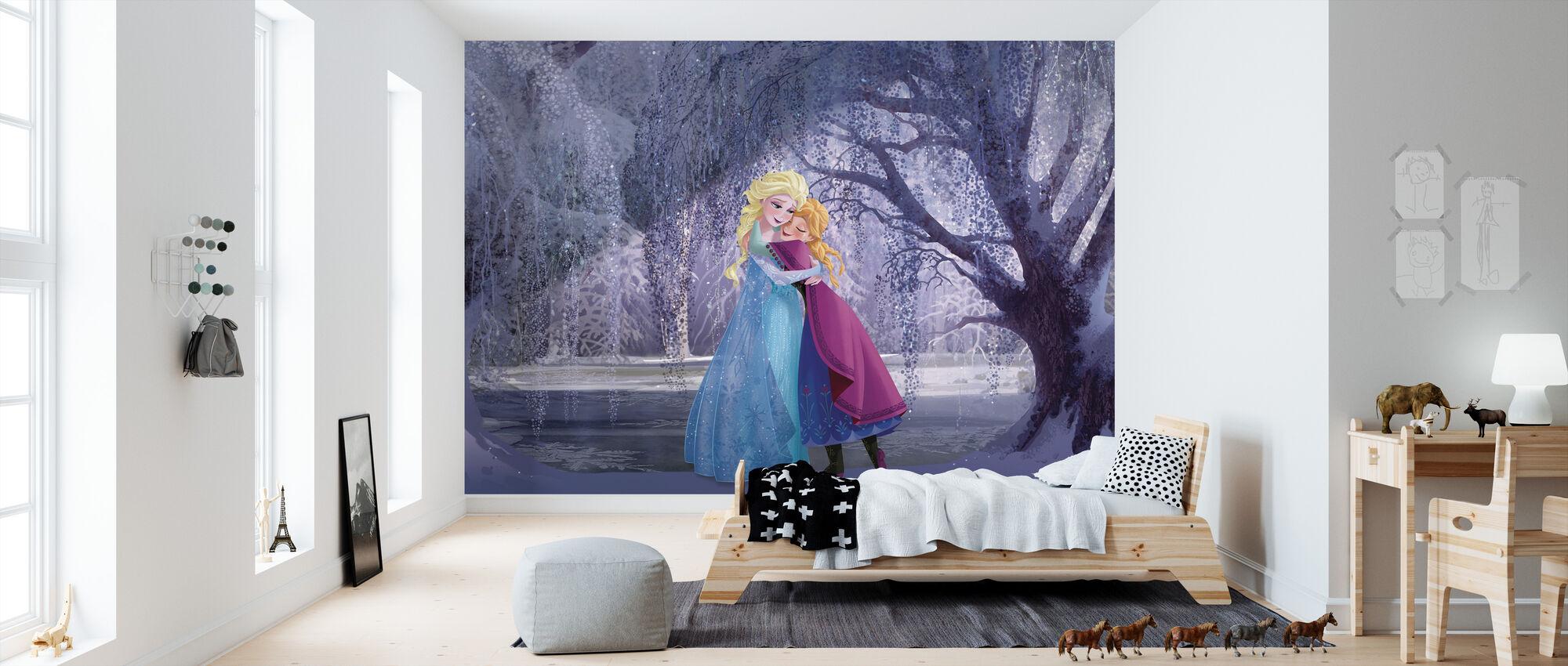 Frozen - Elsa ja Anna - Tapetti - Lastenhuone