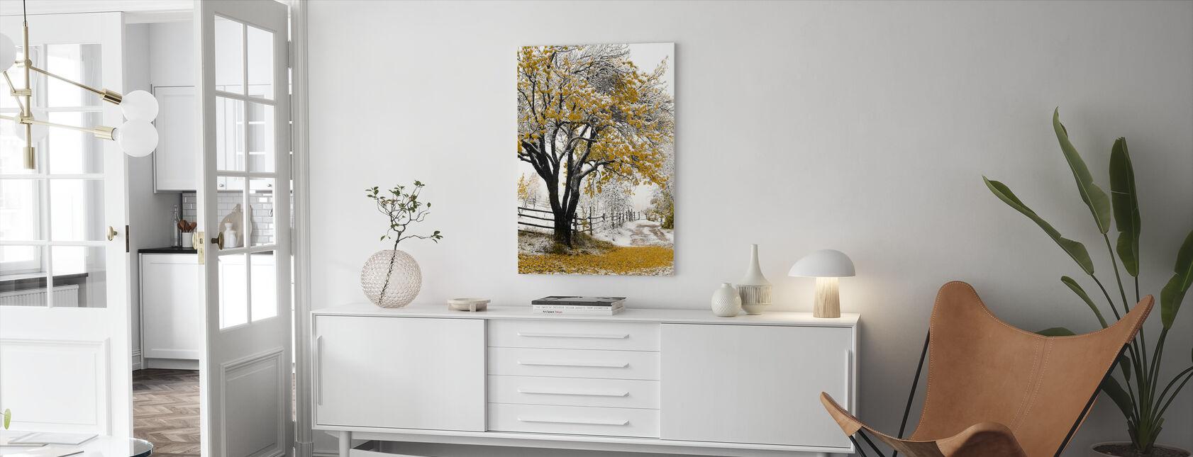 Apricot Tree - Canvas print - Living Room