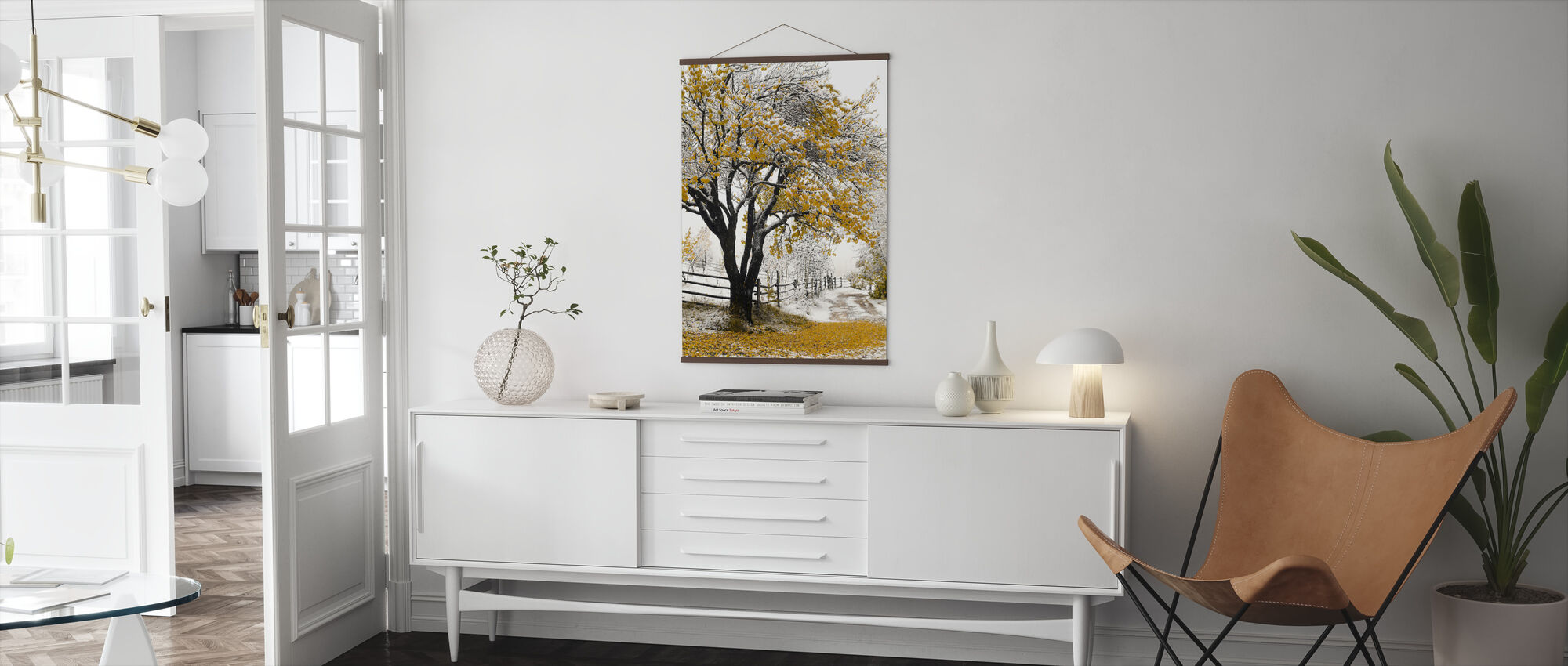 Apricot Tree - Poster - Living Room