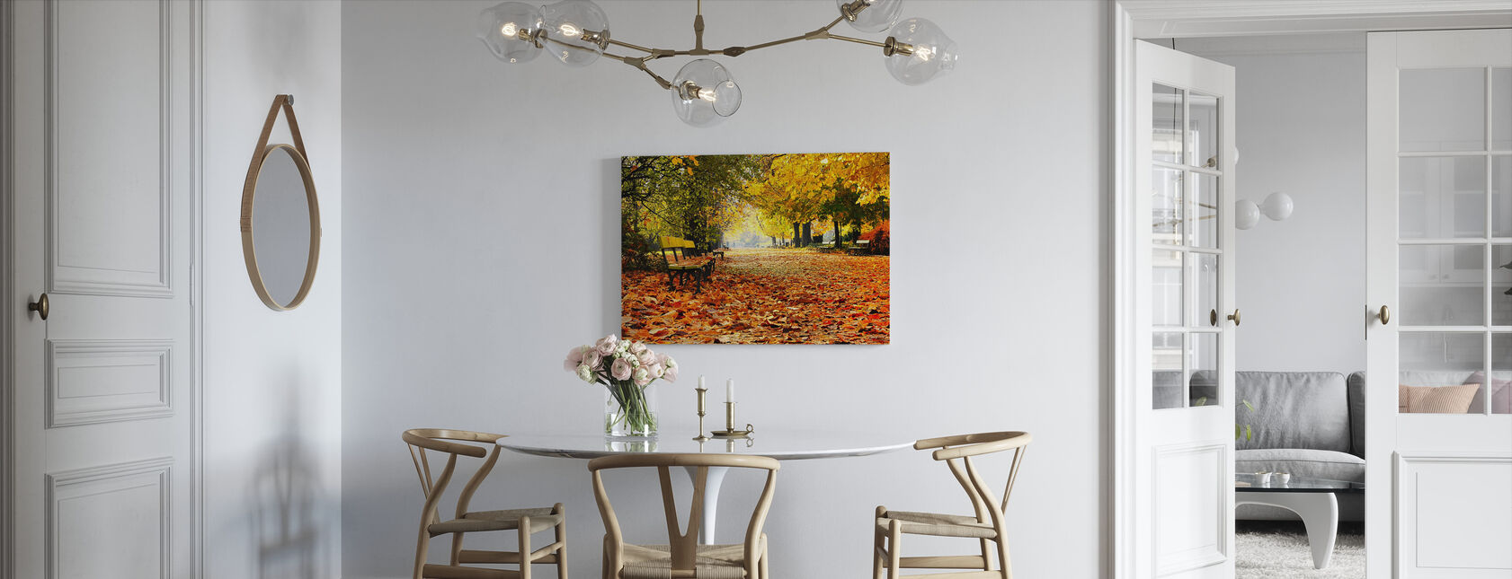 Autumn Park - Canvas print - Kitchen