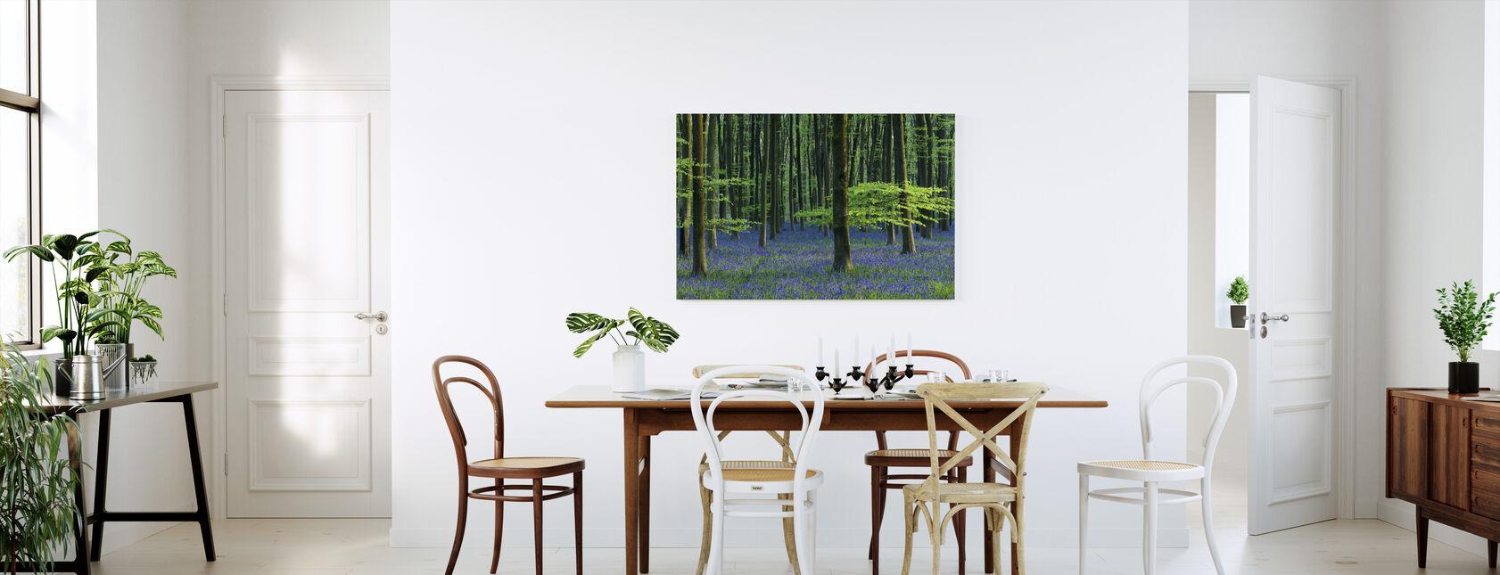 Beautiful Bluebells - Canvas print - Kitchen