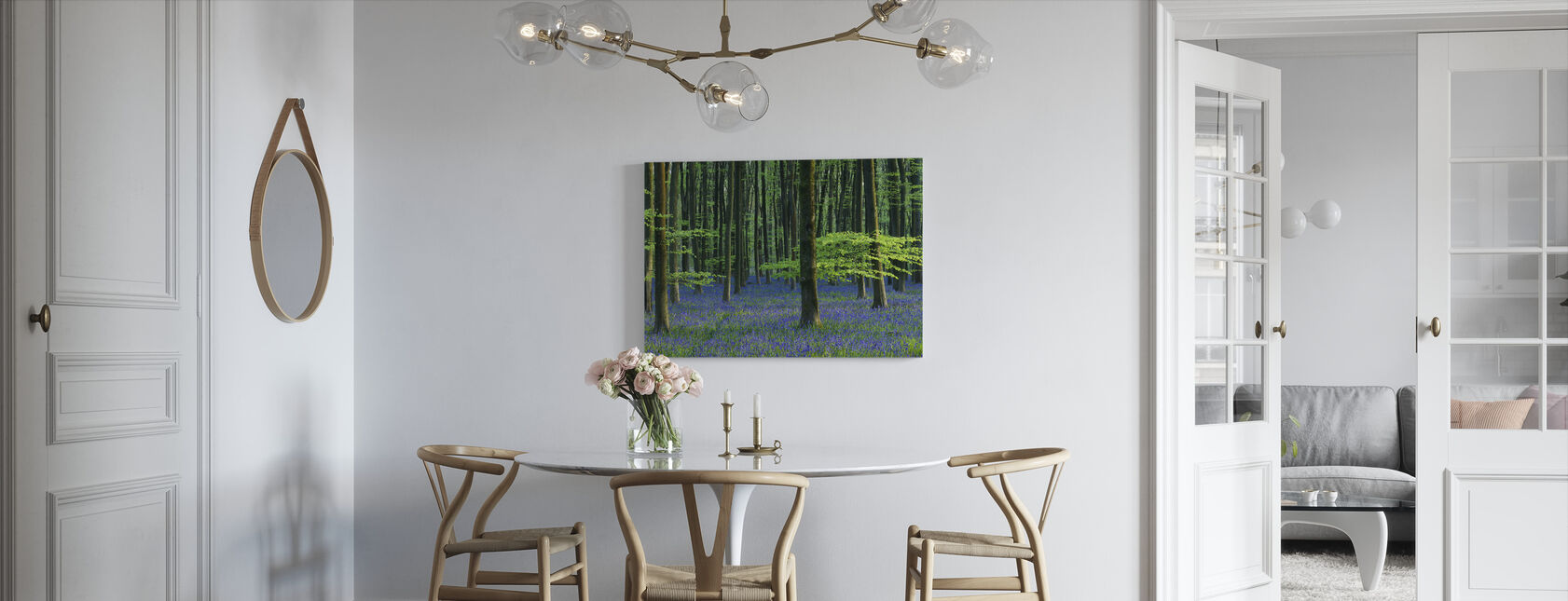 Beautiful Bluebells - Canvas print - Kitchen