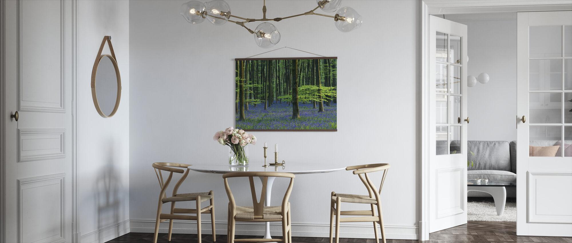 Beautiful Bluebells - Poster - Kitchen