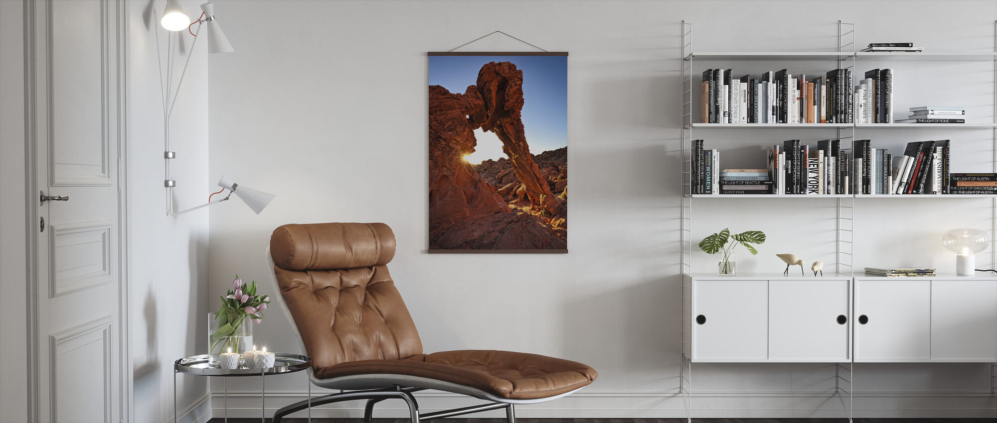 Elephant Rock in the Valley of Fire - Poster - Living Room