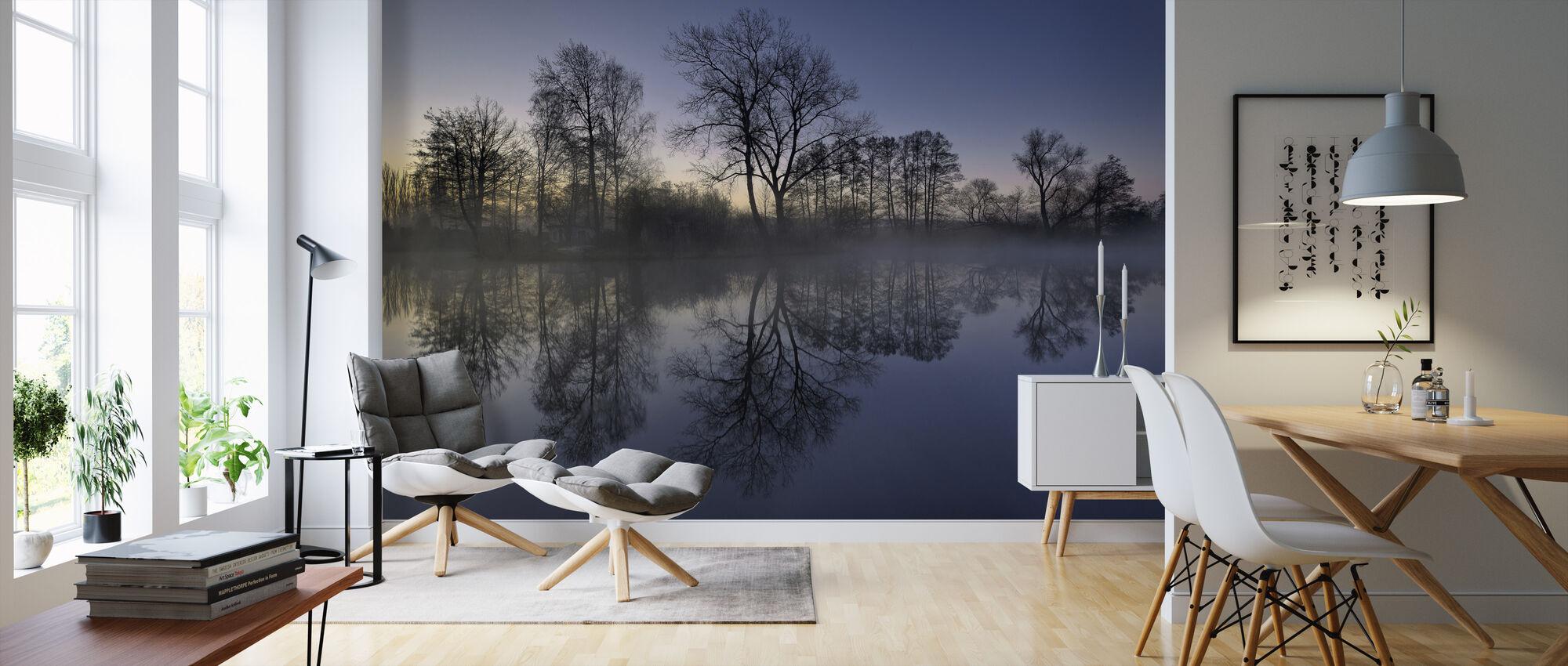 Enkel skönhet - Tapet - Vardagsrum