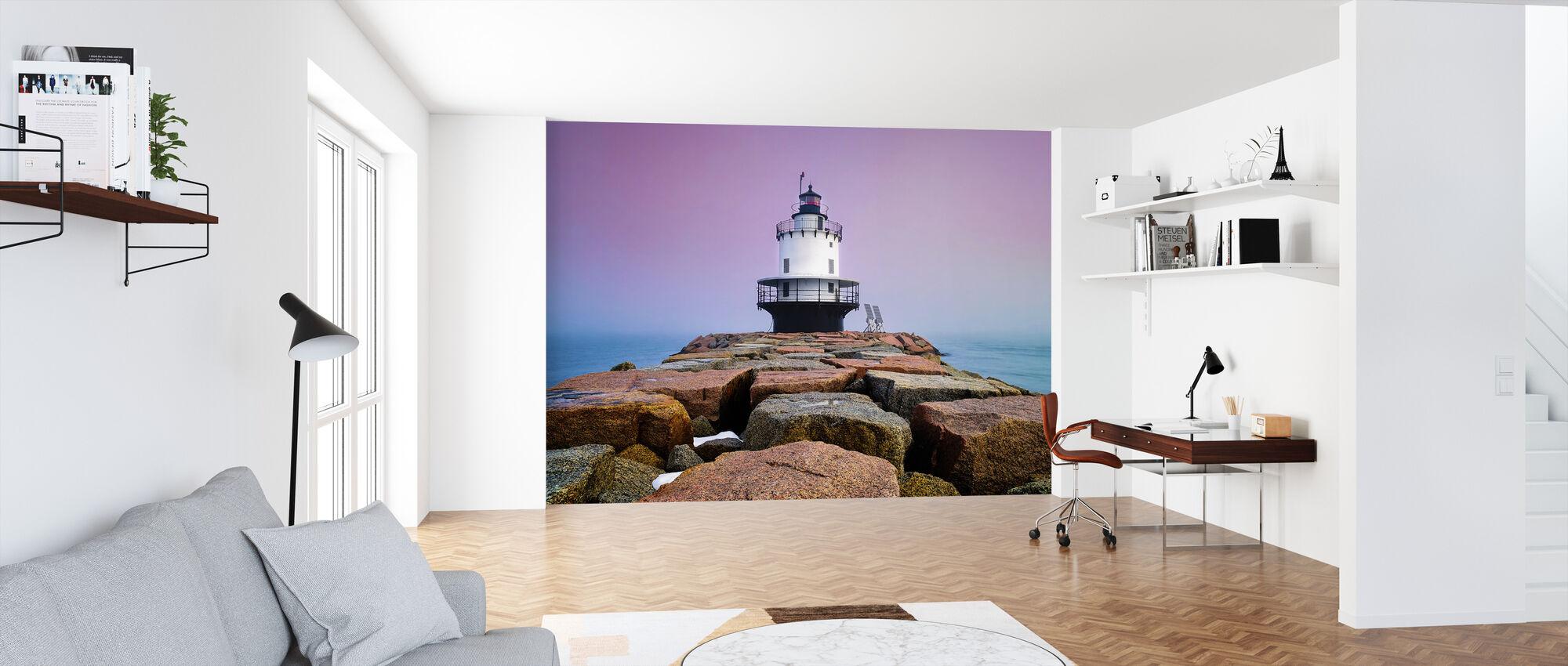 Spring Point Light - Wallpaper - Office