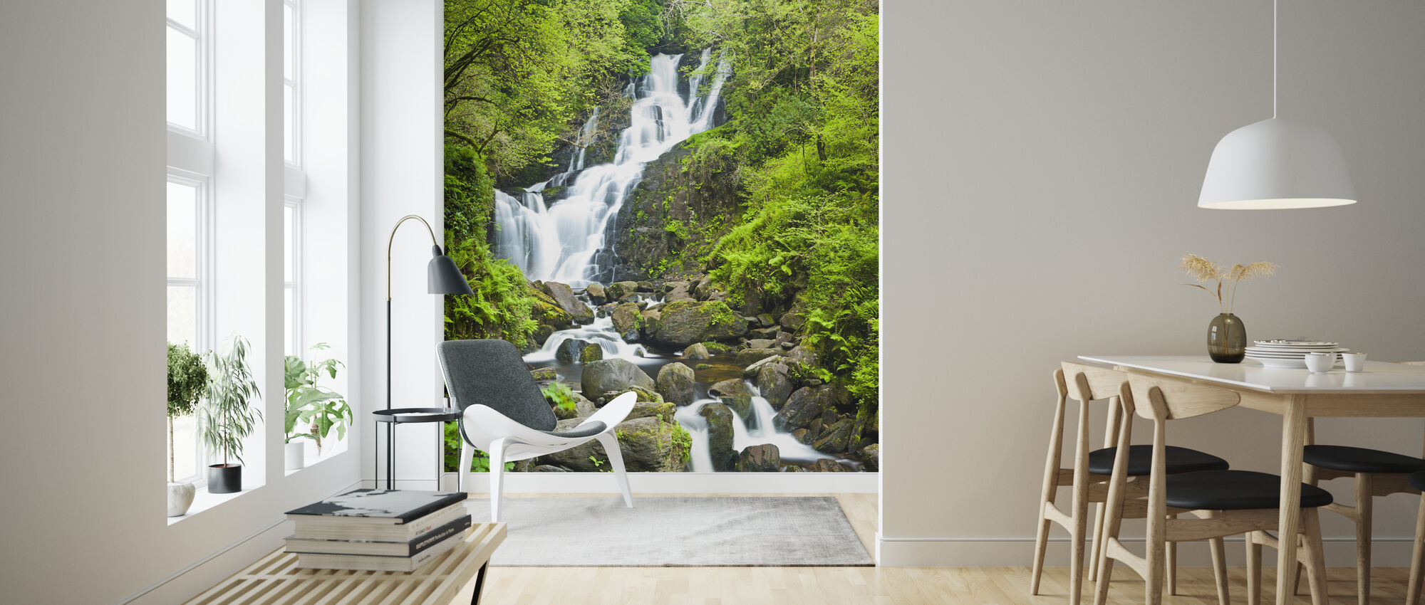 Torc Waterfall - Wallpaper - Living Room