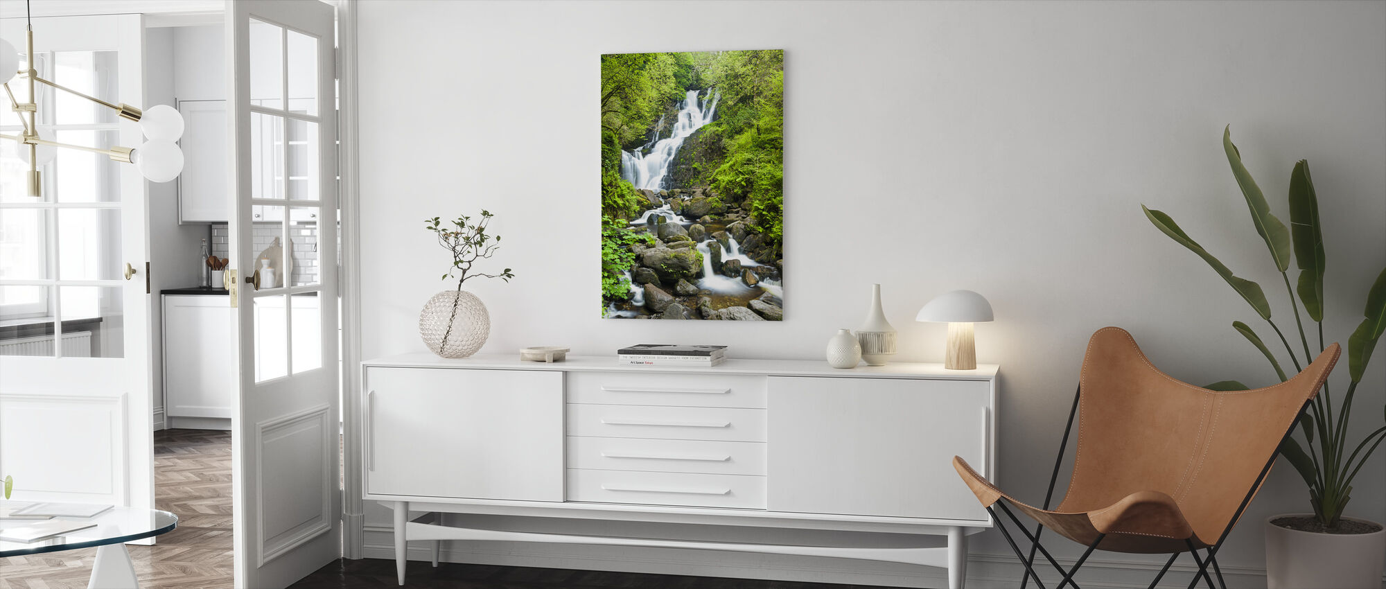 Torc Waterfall - Canvas print - Living Room
