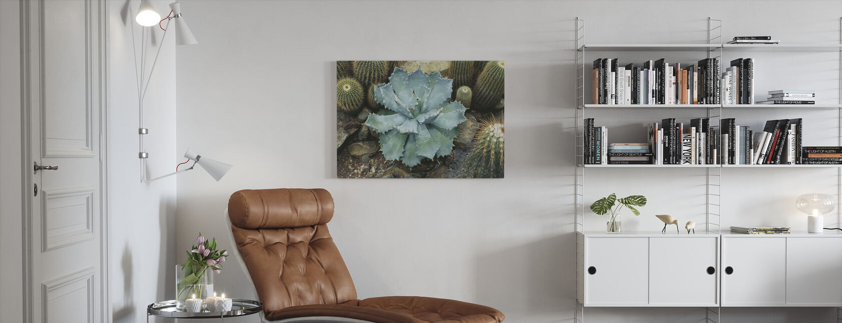 Agave Succulent - Canvas print - Living Room