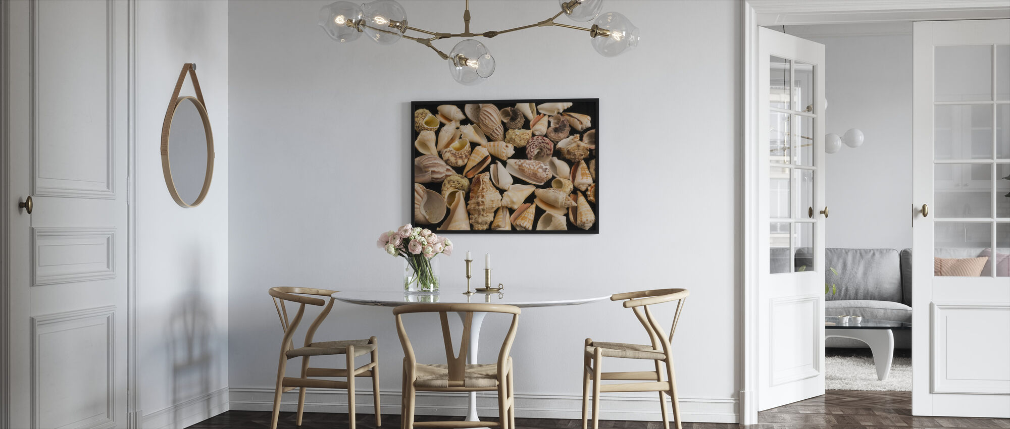 Con Shells - Framed print - Kitchen