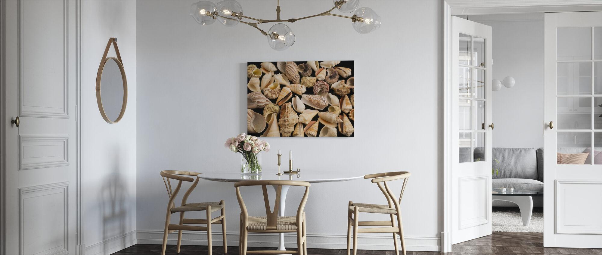 Con skjell - Lerretsbilde - Kjøkken