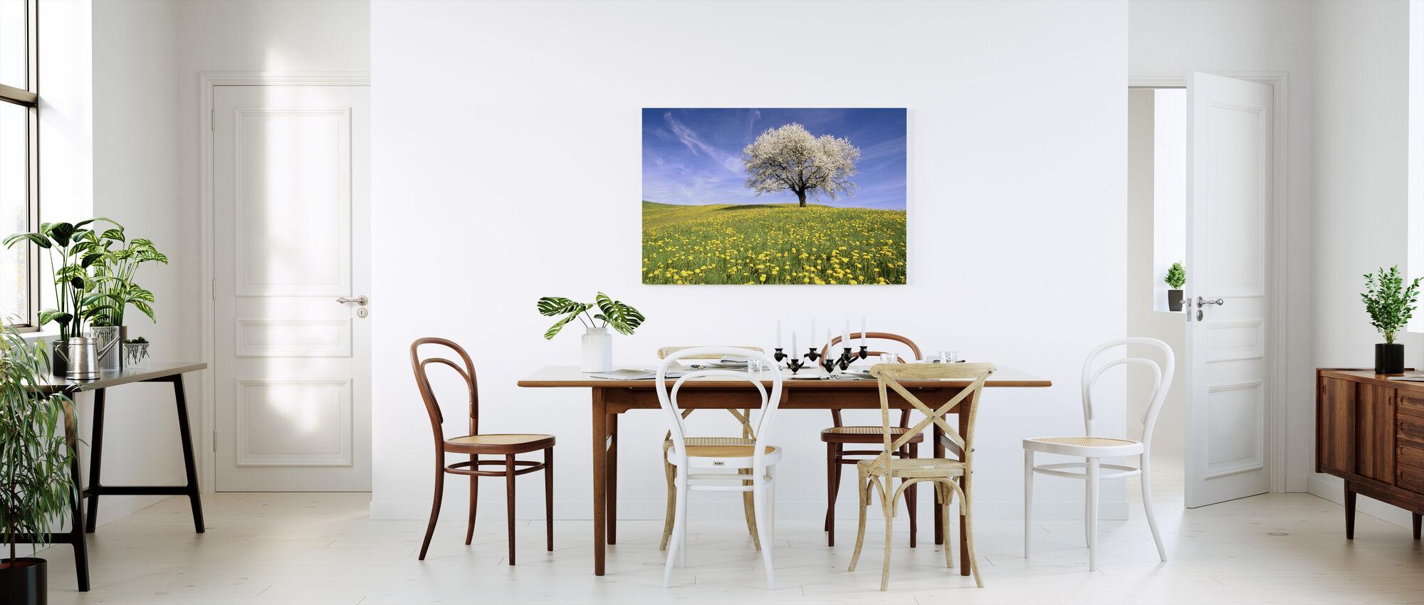 Dandelion Meadow - Canvas print - Kitchen