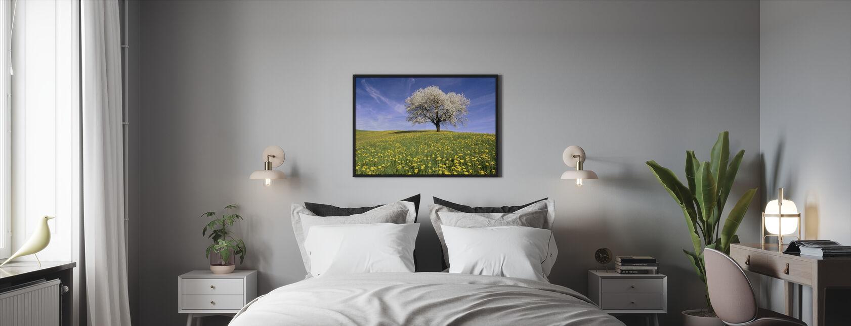 Dandelion Meadow - Framed print - Bedroom