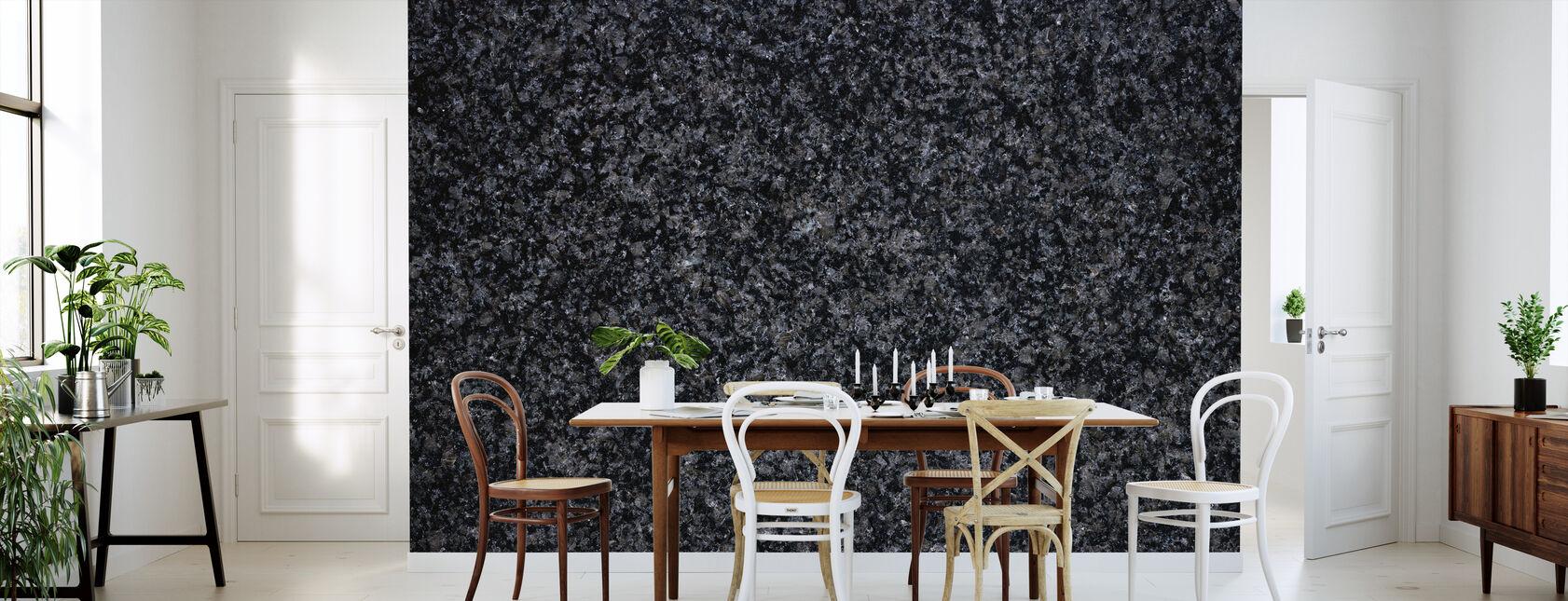 Impala Black Granite - Wallpaper - Kitchen