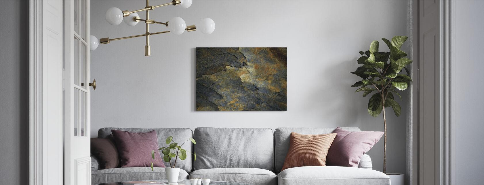 Mineral Rock - Lerretsbilde - Stue