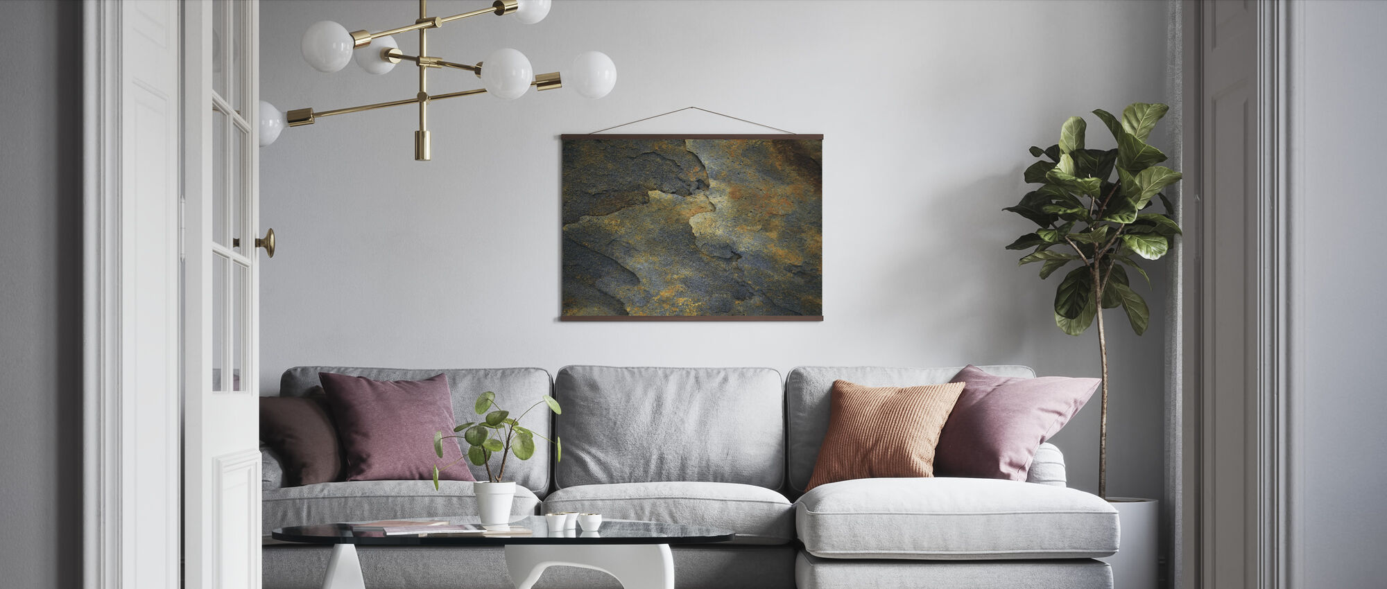 Mineral Rock - Poster - Living Room