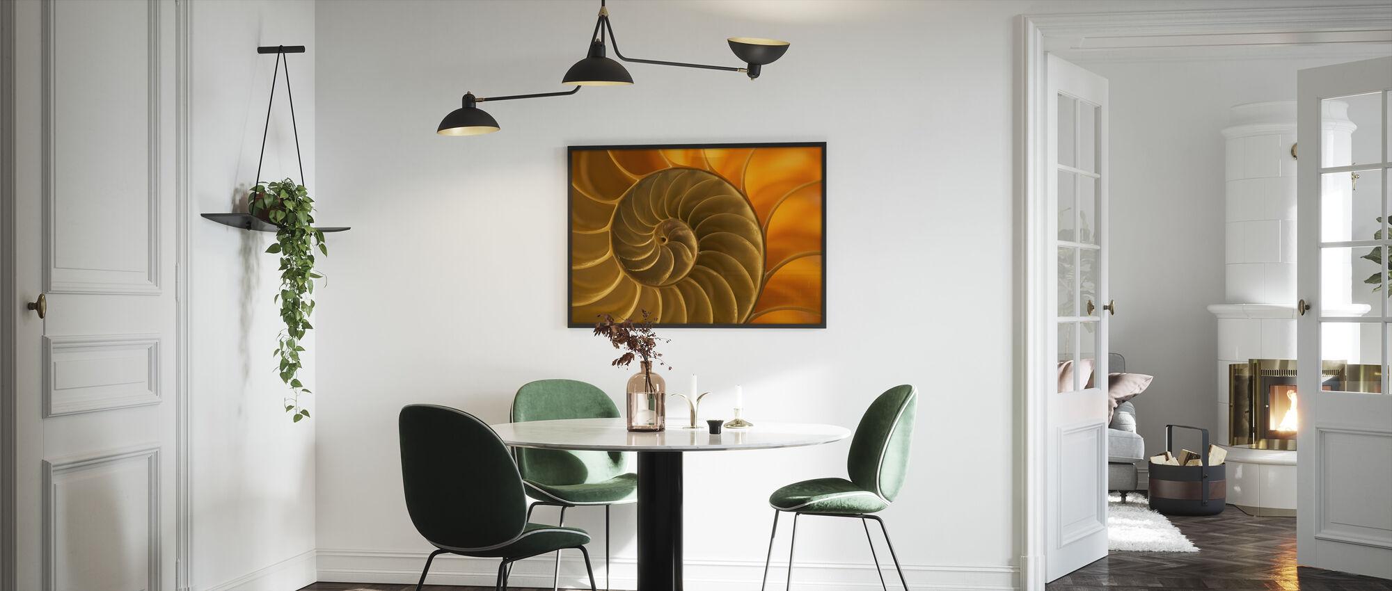 Nautilus Shell - Framed print - Kitchen