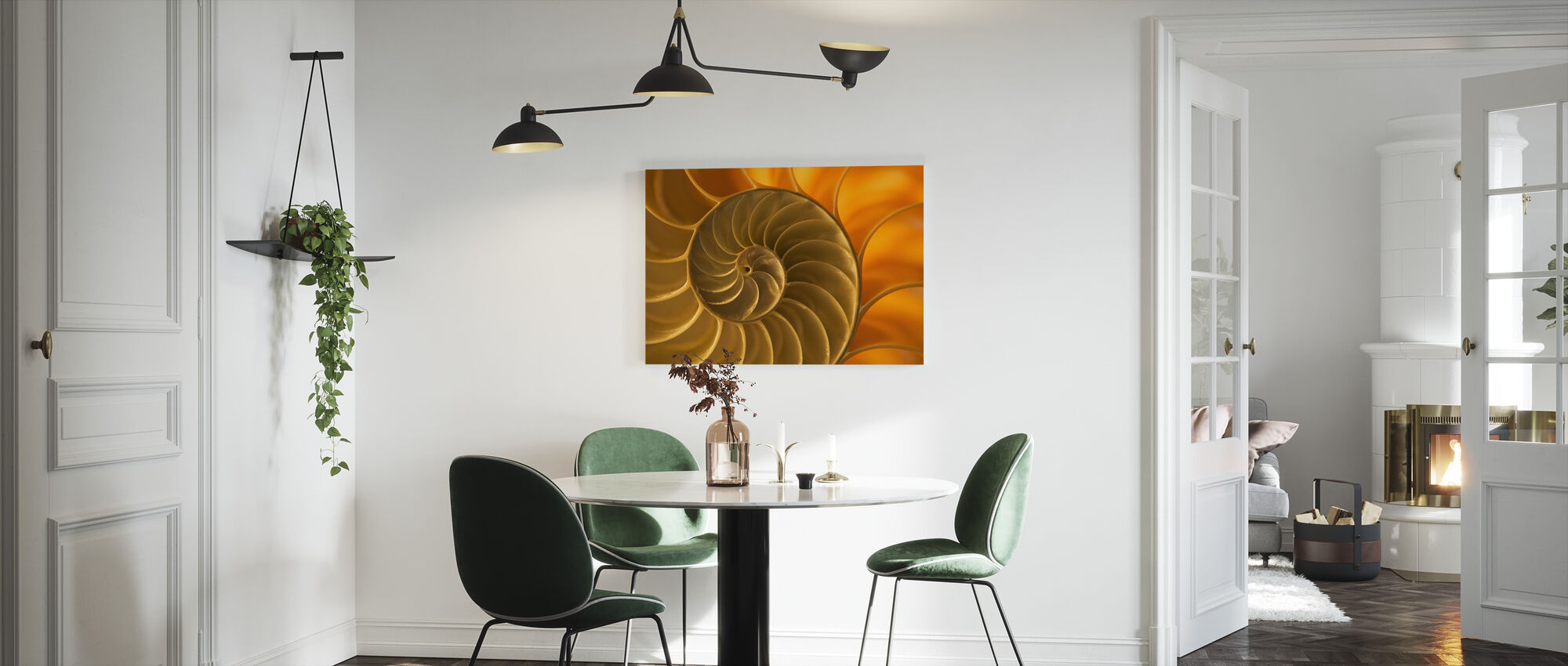 Nautilus Shell - Canvas print - Kitchen