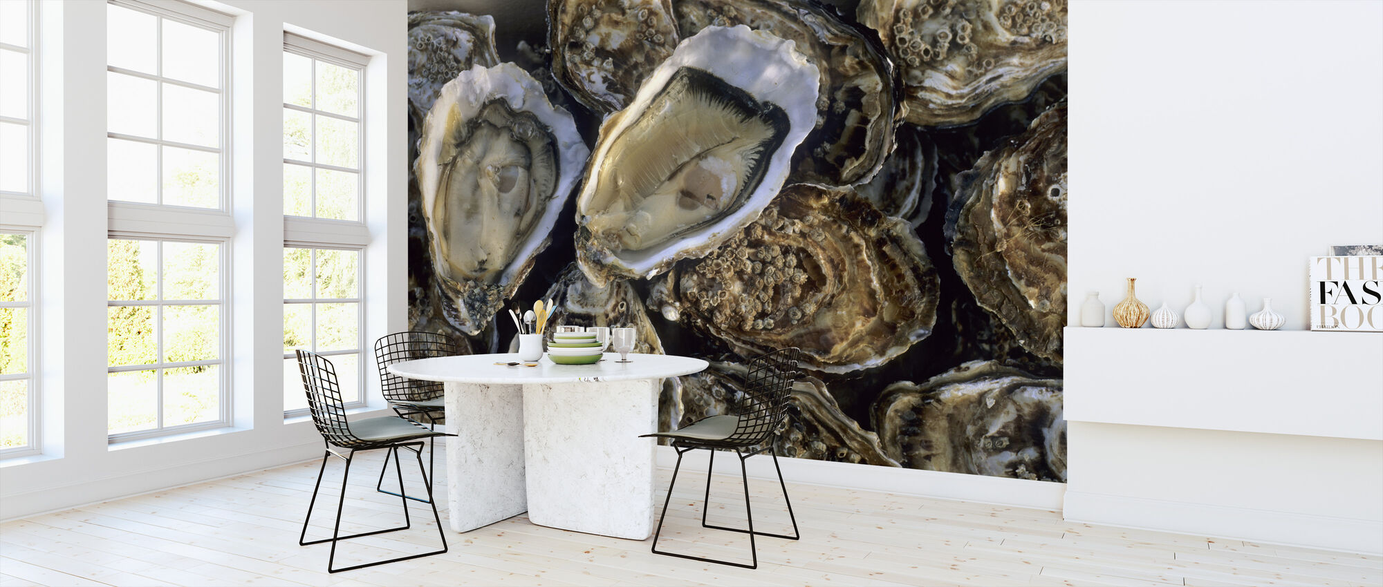 Oysters - Wallpaper - Kitchen