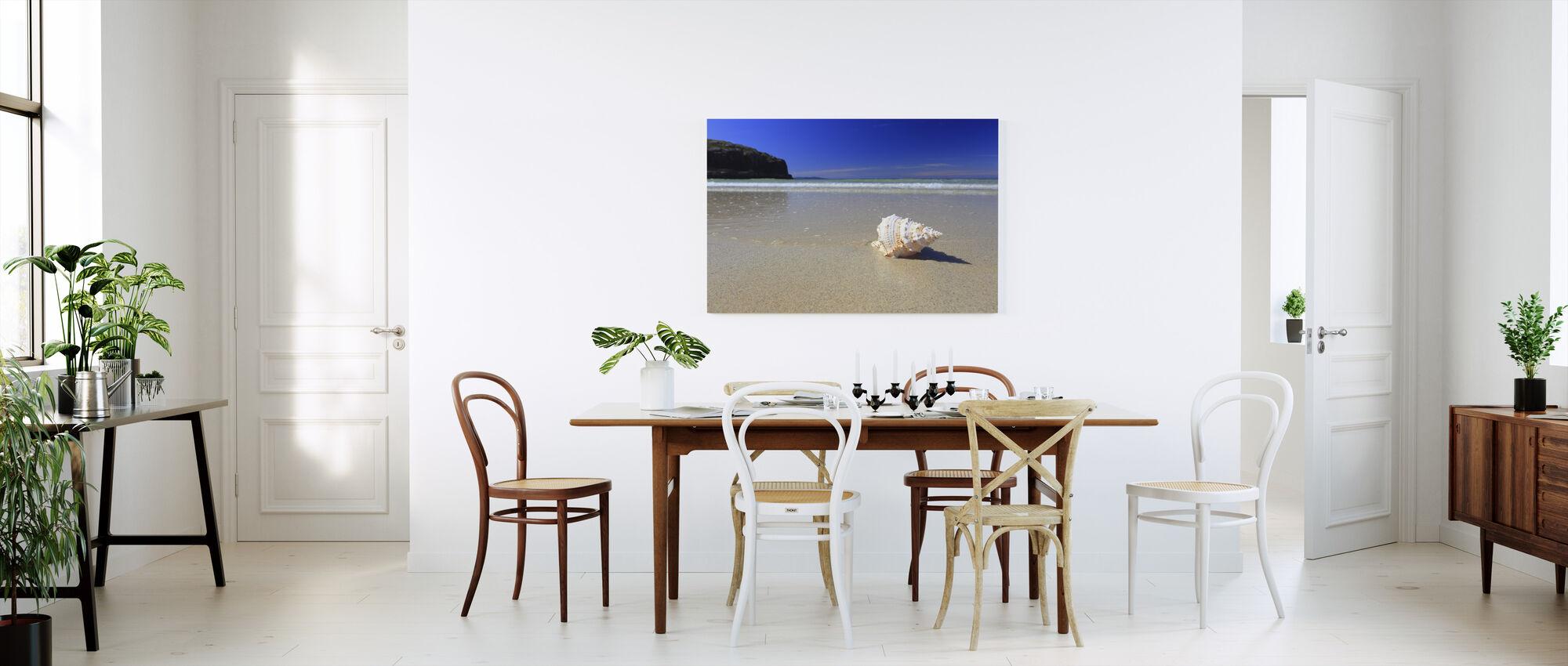 Shell on Beach - Canvas print - Kitchen