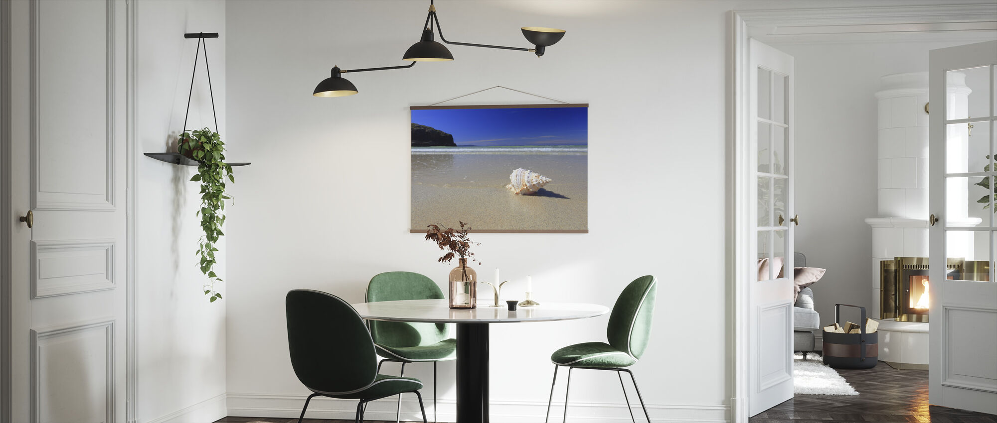 Shell on Beach - Poster - Kitchen