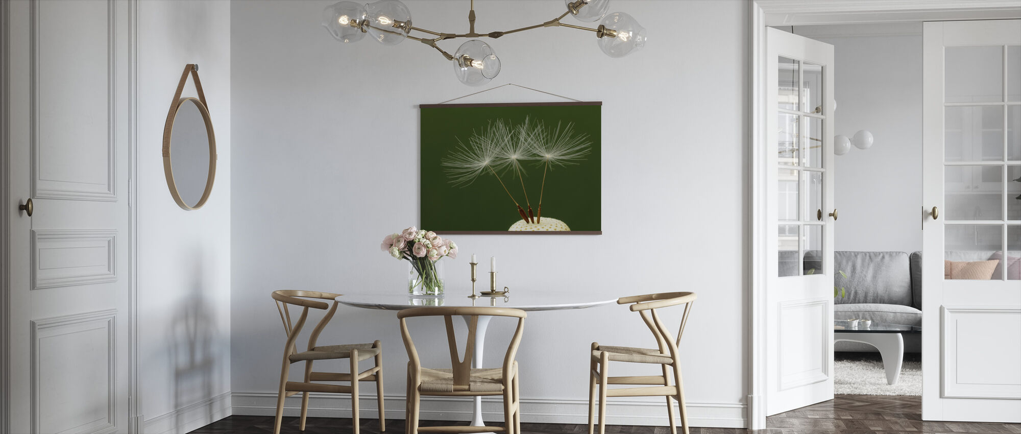Three Dandelion Seeds - Poster - Kitchen