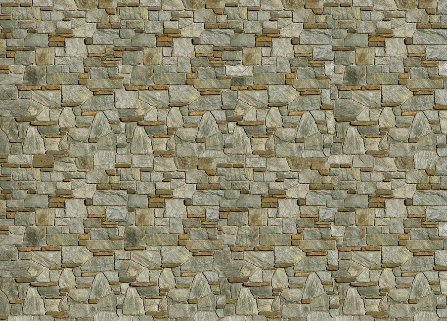 Decorative Stone Wall Fototapeter & Tapeter 100 x 100 cm