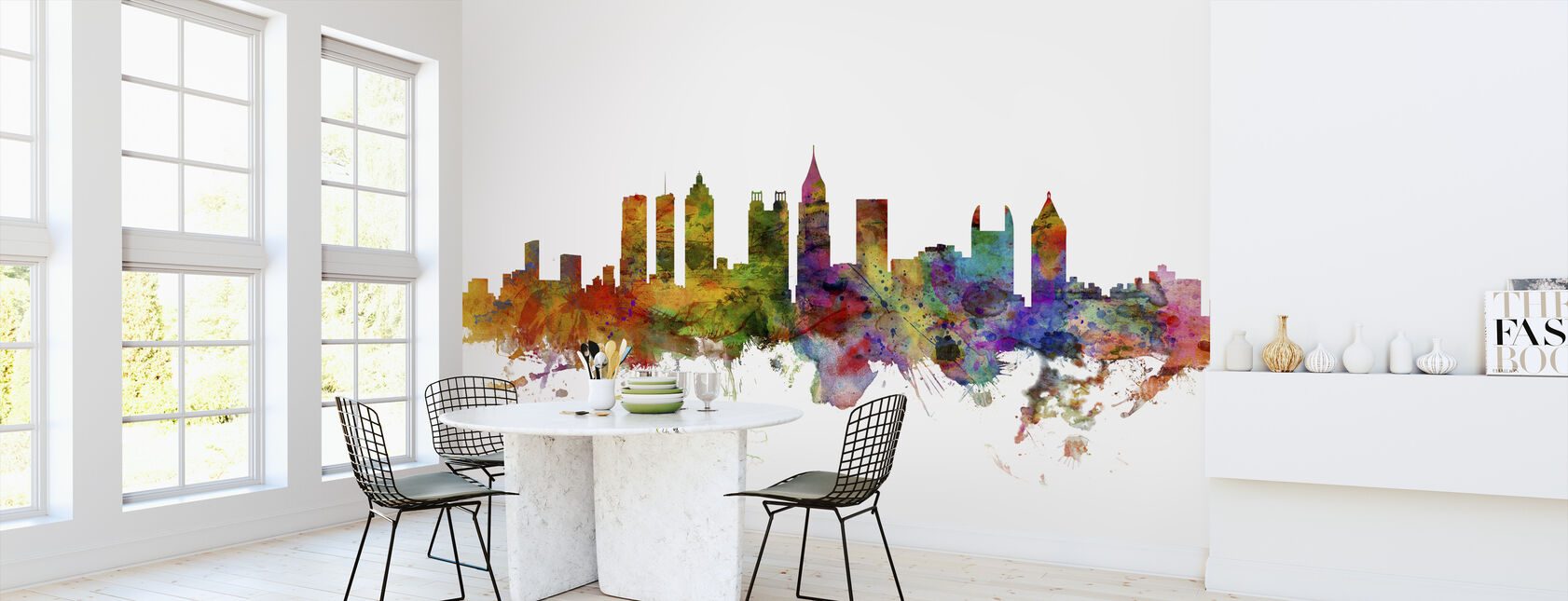 Atlanta Georgia Skyline - Wallpaper - Kitchen
