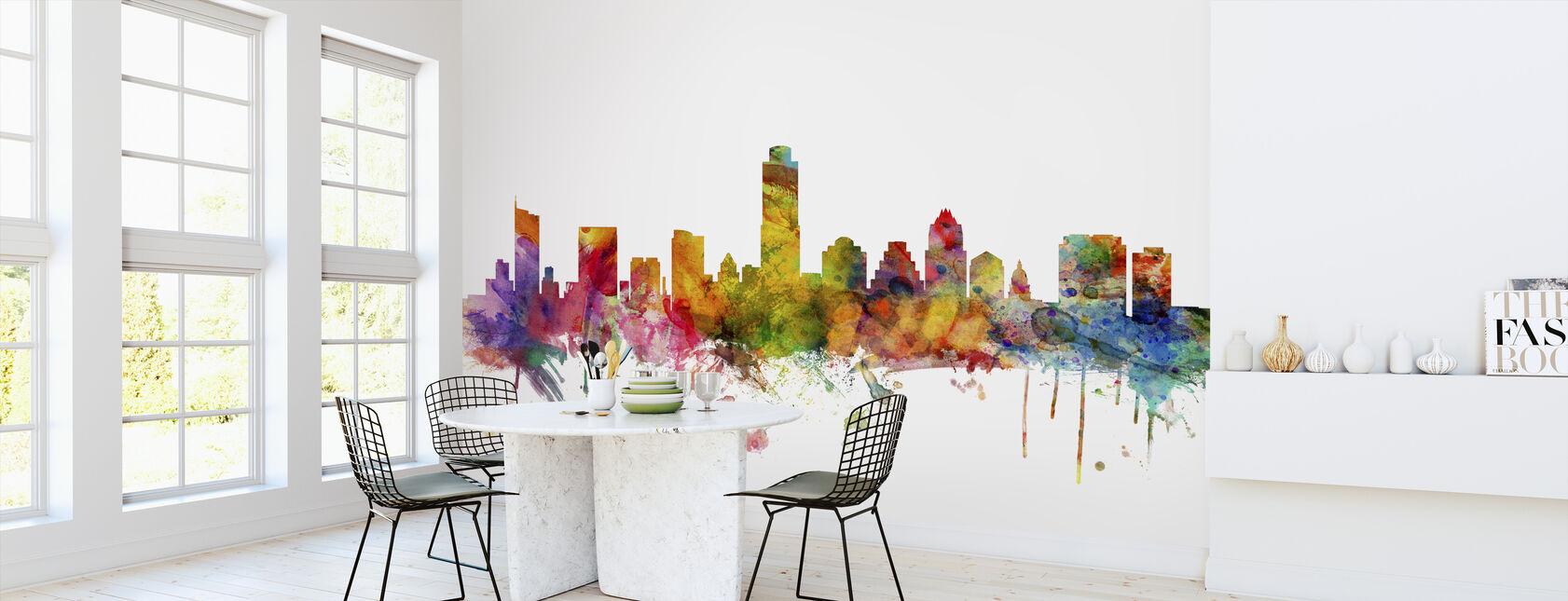 Austin Texas Skyline - Wallpaper - Kitchen