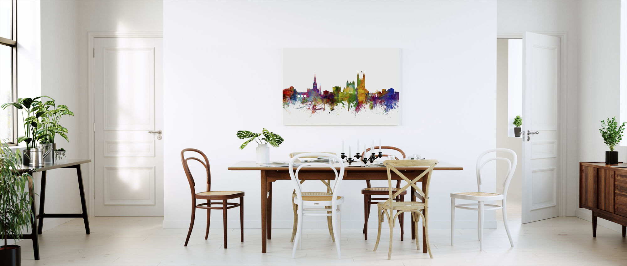 Bath England Skyline - Canvas print - Kitchen