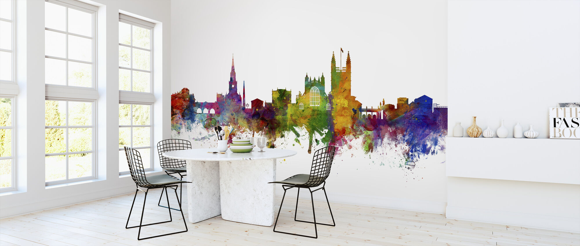 Bath England Skyline - Wallpaper - Kitchen