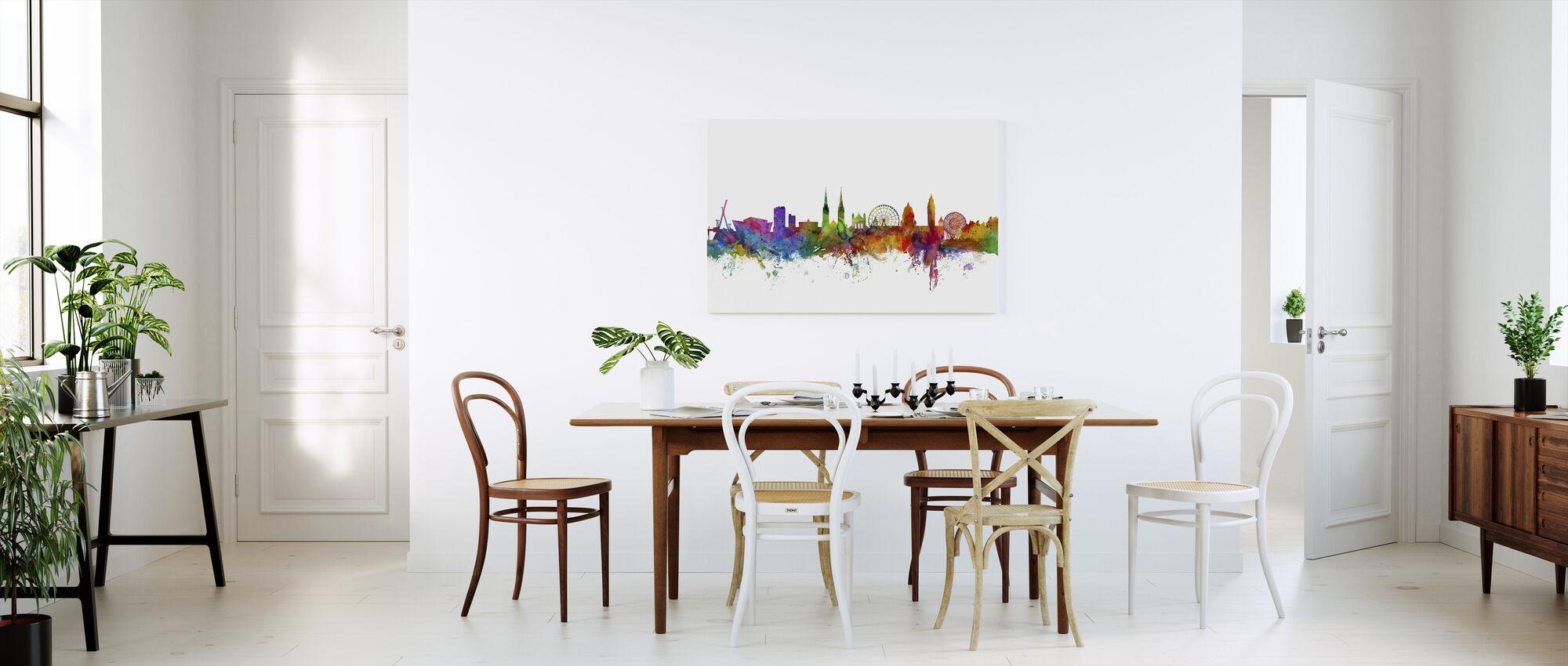 Belfast Northern Ireland Skyline - Canvas print - Kitchen