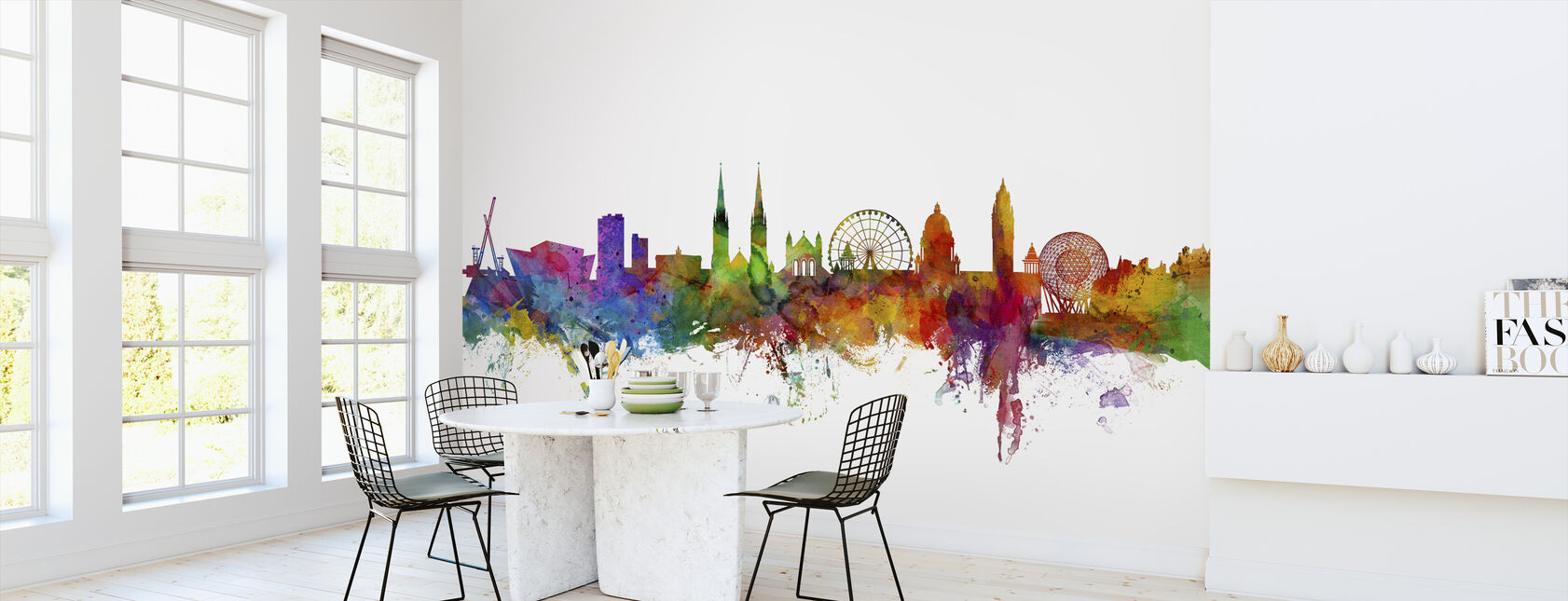 Belfast Northern Ireland Skyline - Wallpaper - Kitchen