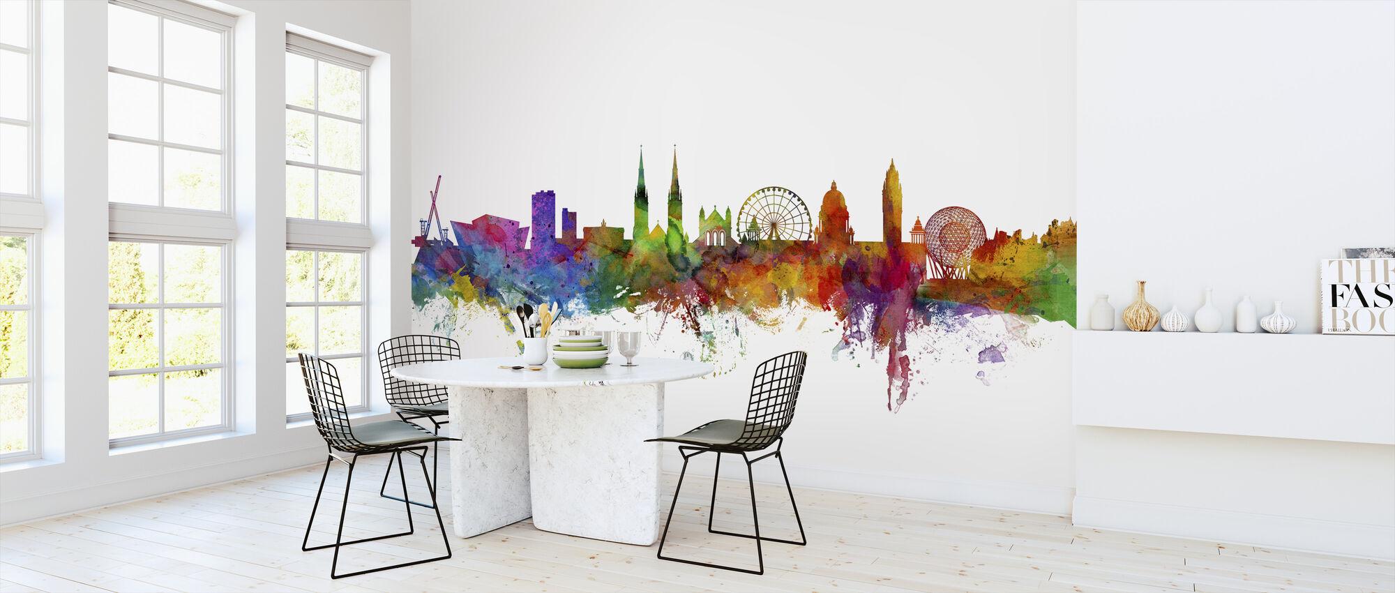 Belfast Northern Ireland Skyline - Wallpaper - Kitchen