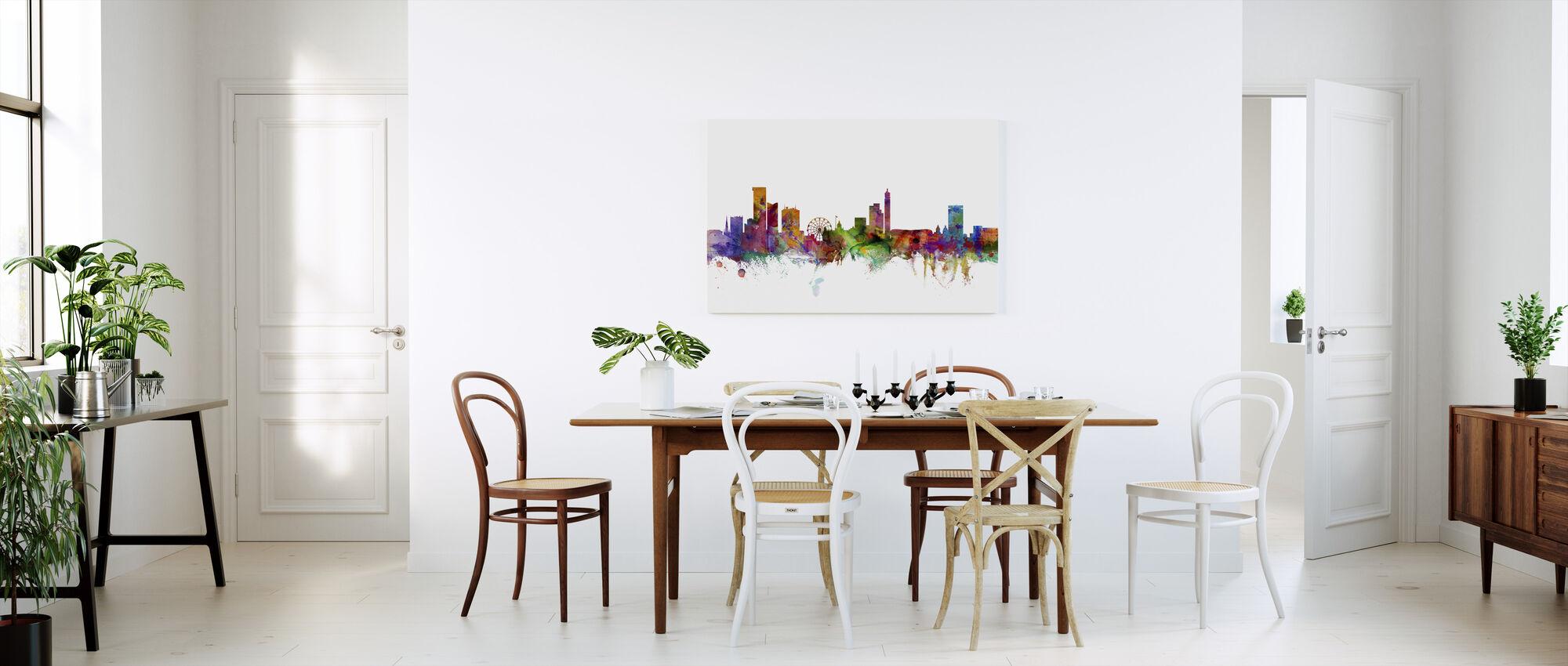 Birmingham England Skyline - Canvas print - Kitchen