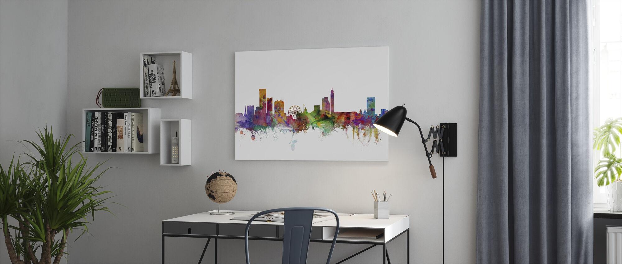 Birmingham England Skyline - Canvas print - Office