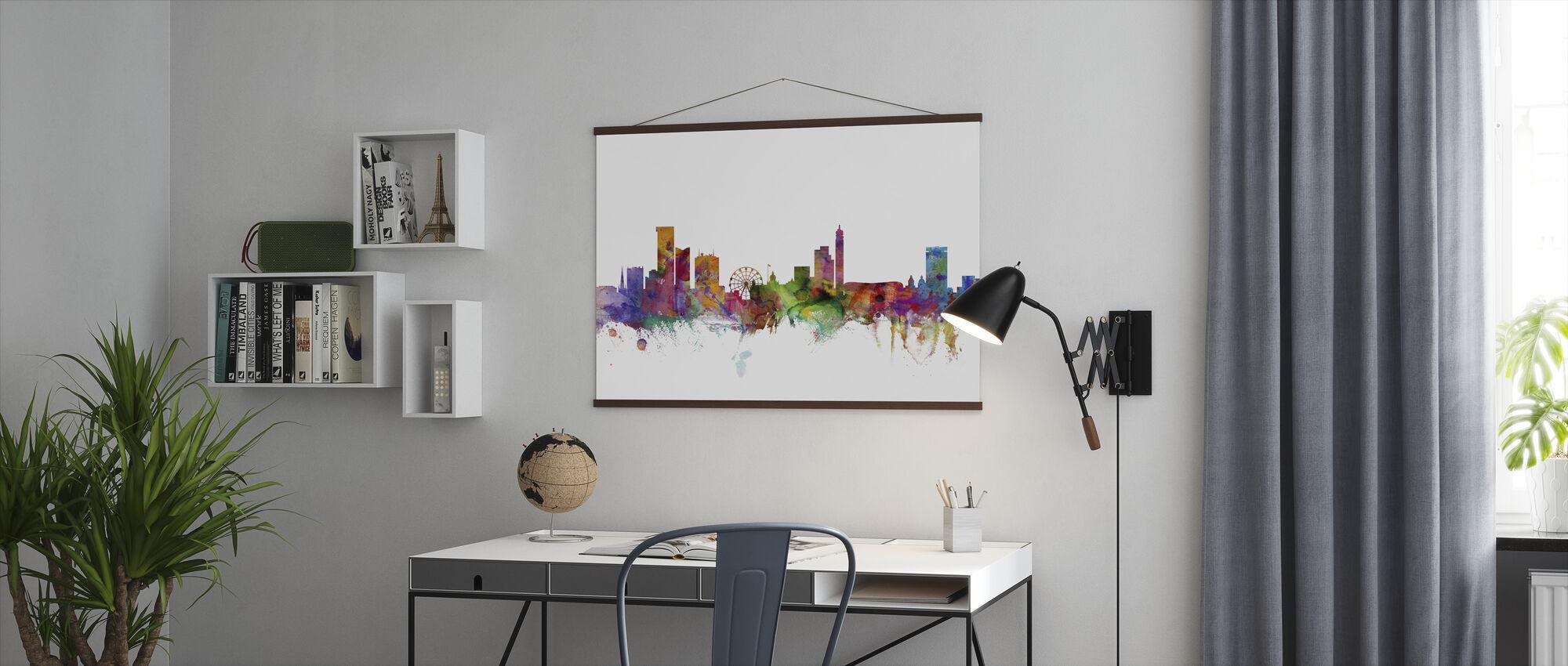 Birmingham England Skyline - Poster - Office