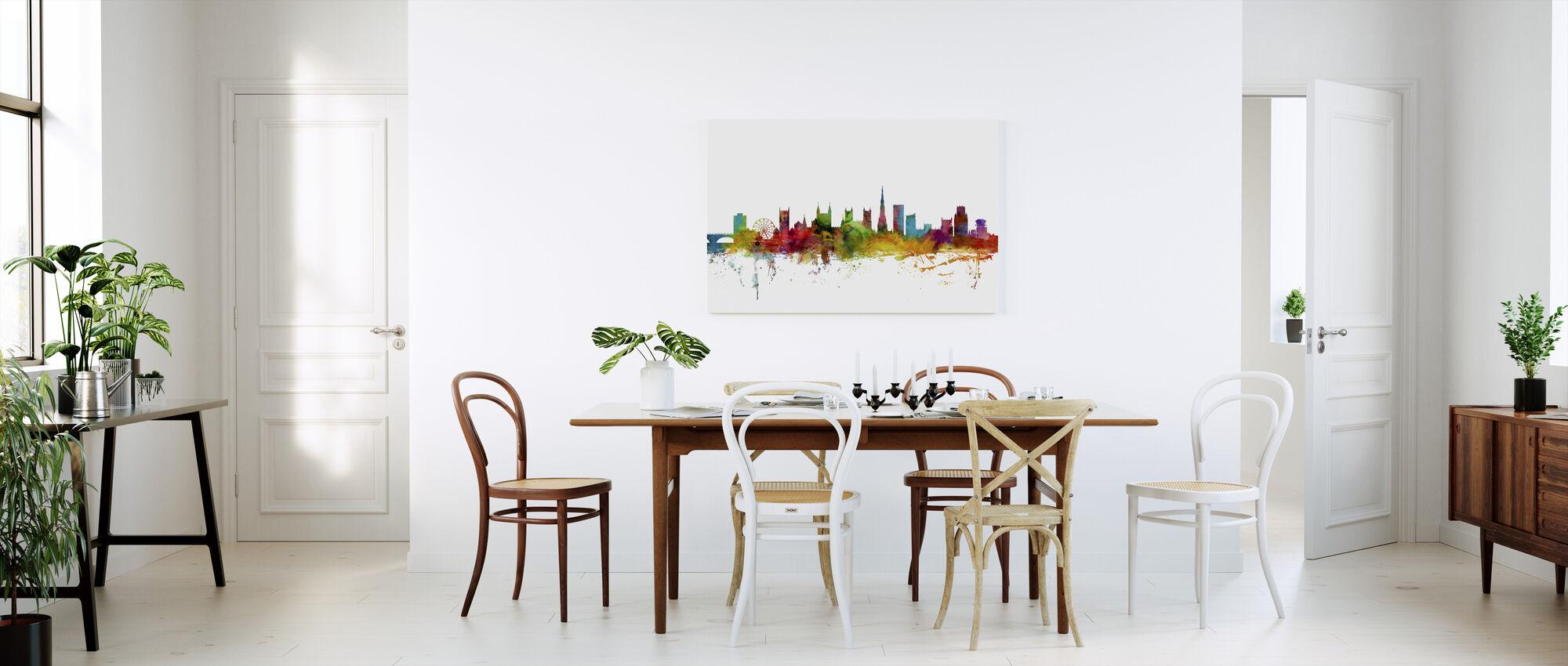 Bristol England Skyline - Canvas print - Kitchen