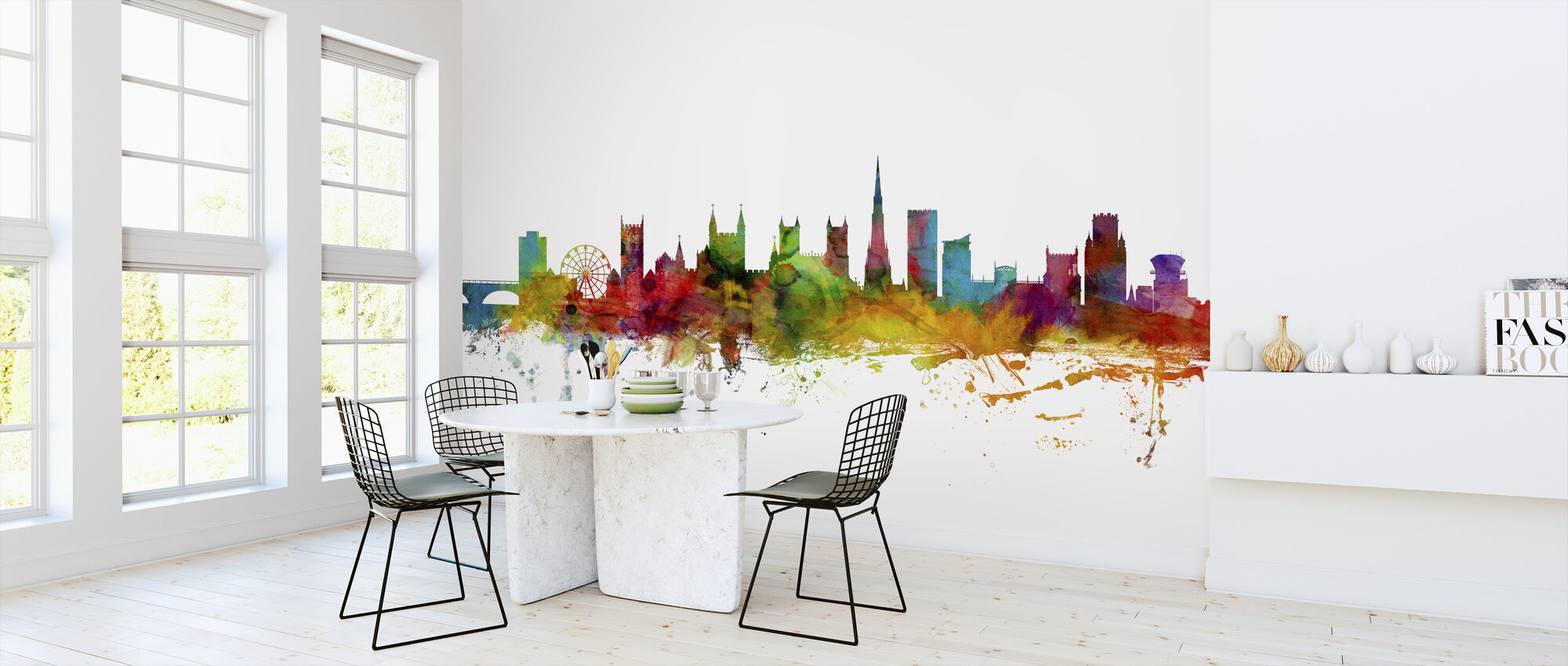 Bristol England Skyline - Wallpaper - Kitchen