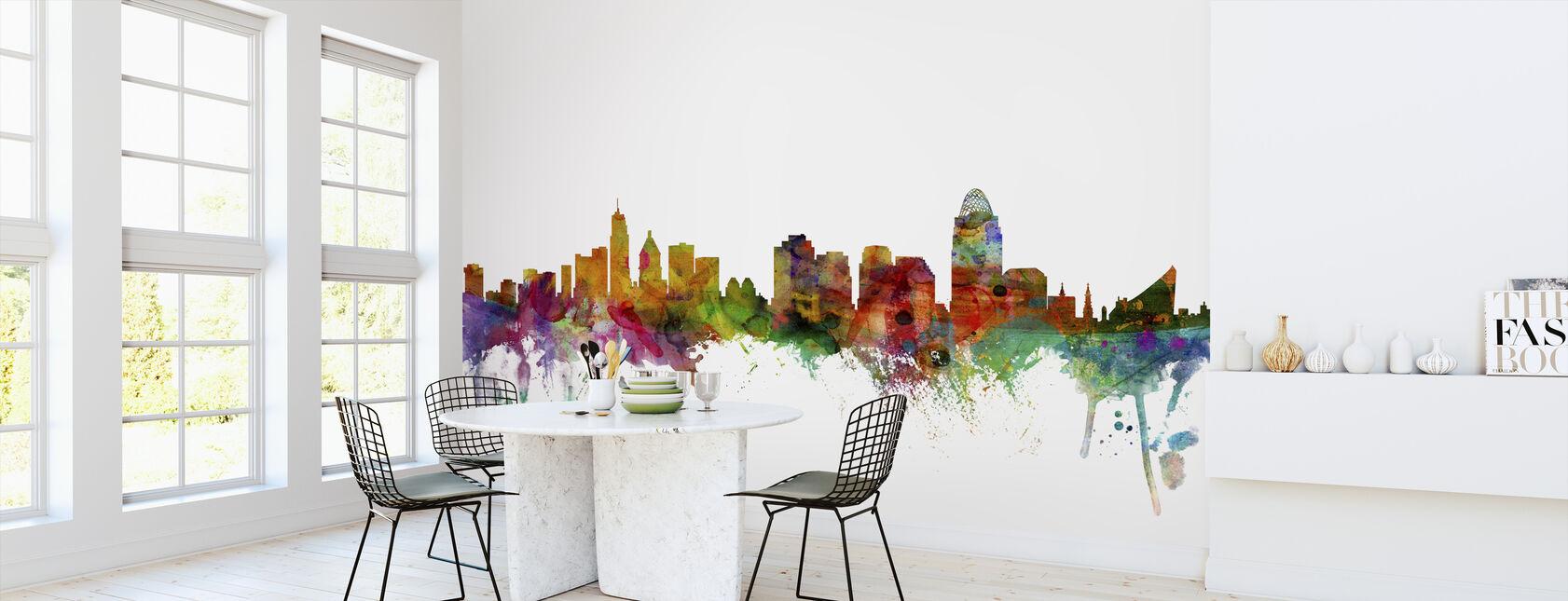 Cincinnati Ohio Skyline - Tapetti - Keittiö