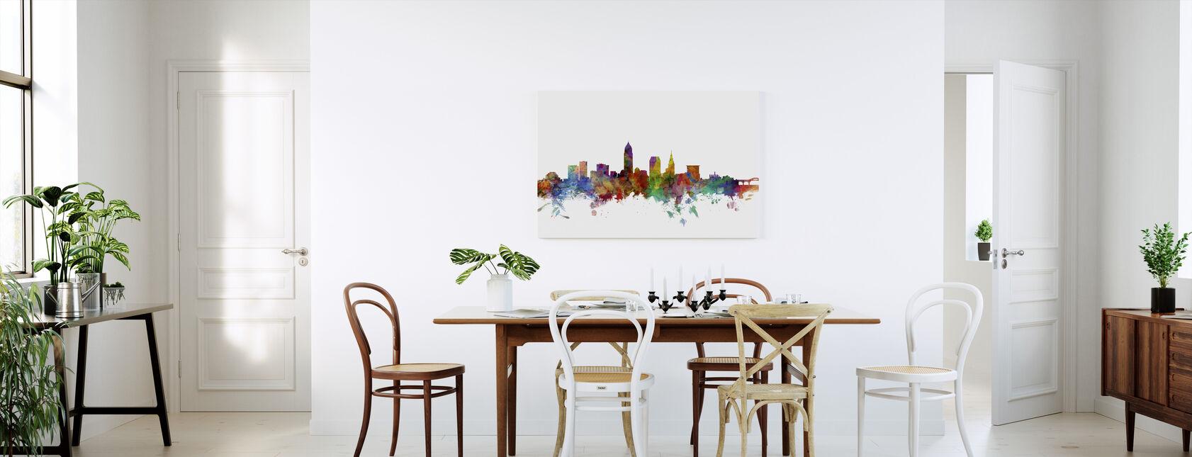 Cleveland Ohio Skyline - Canvas print - Kitchen