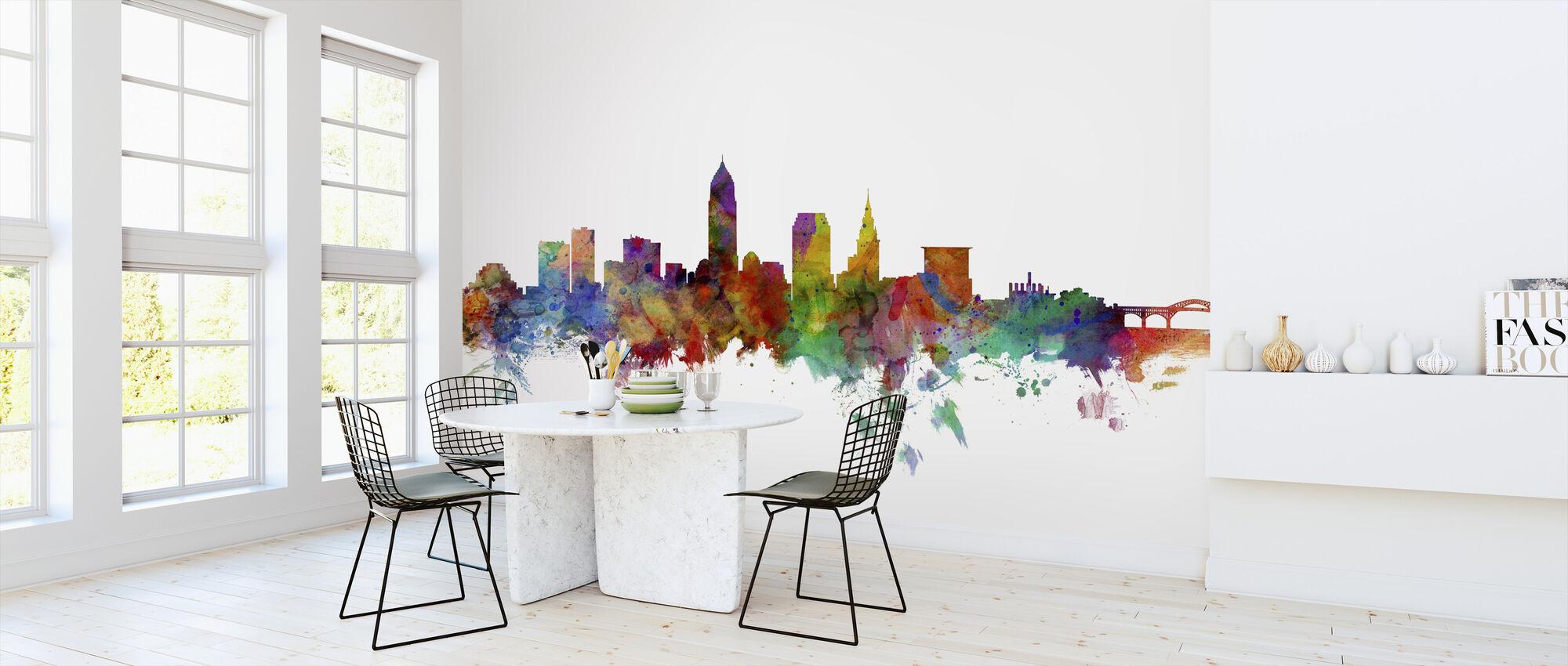 Cleveland Ohio Skyline - Tapet - Kjøkken