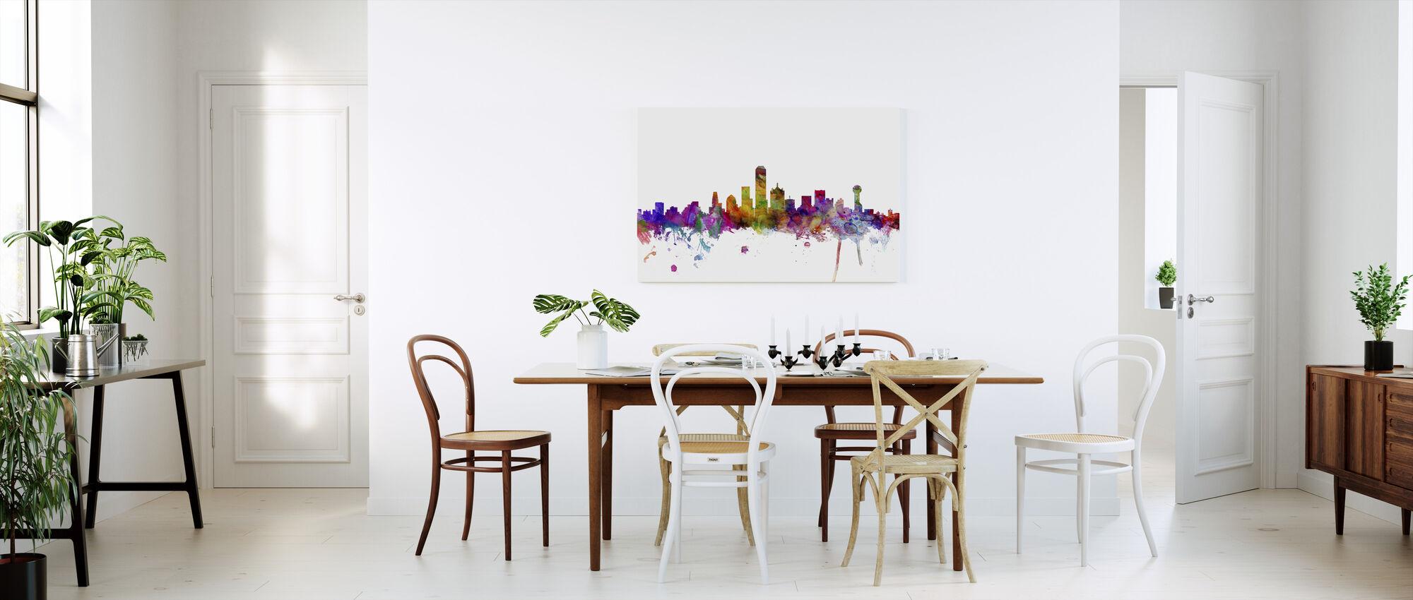 Dallas Texas Skyline - Canvas print - Kitchen