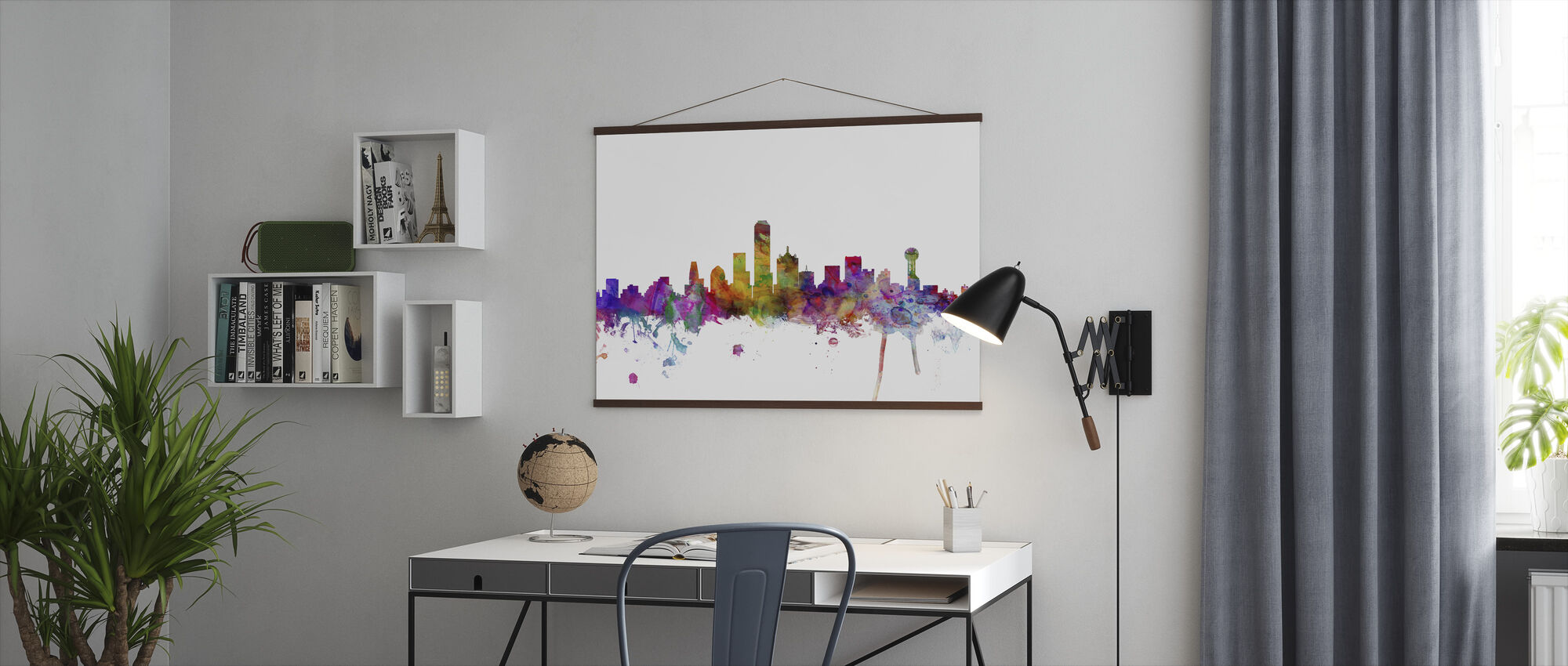 Dallas Texas Skyline - Poster - Office
