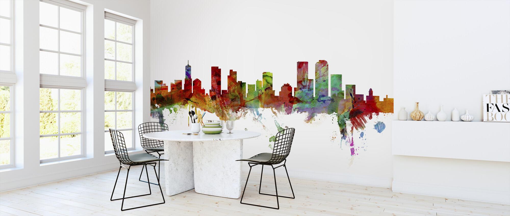 Denver Colorado Skyline - Wallpaper - Kitchen