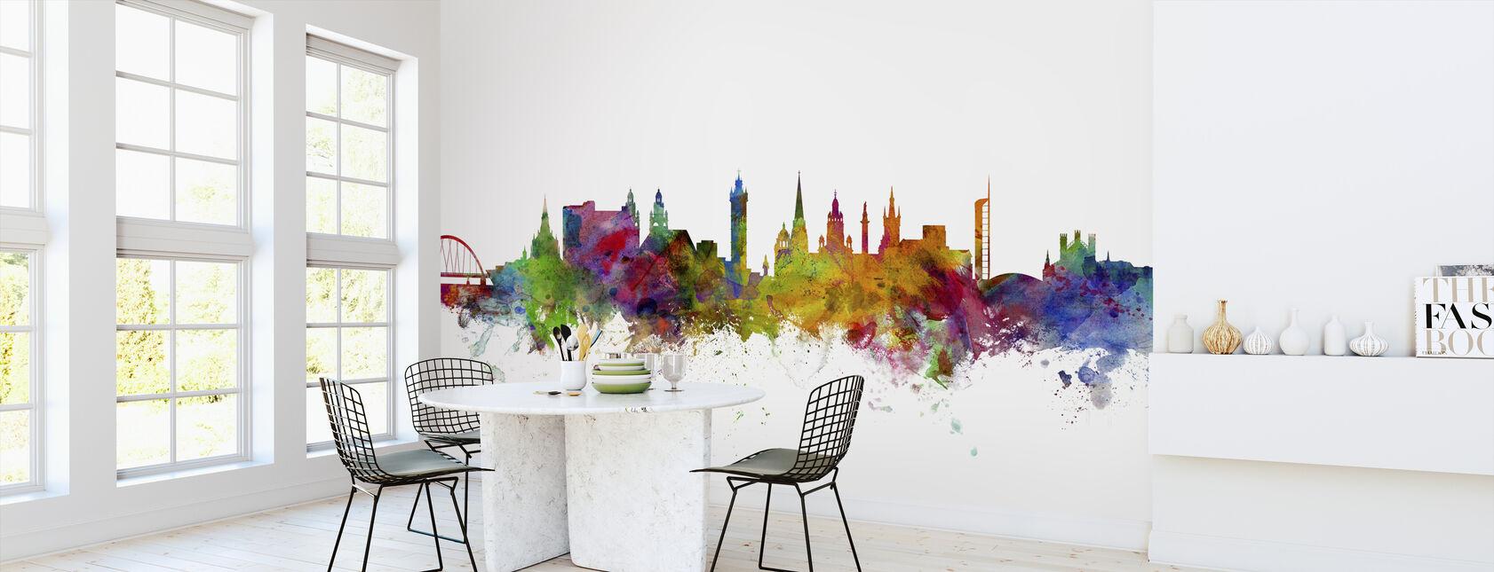 Glasgow Scotland Skyline - Wallpaper - Kitchen