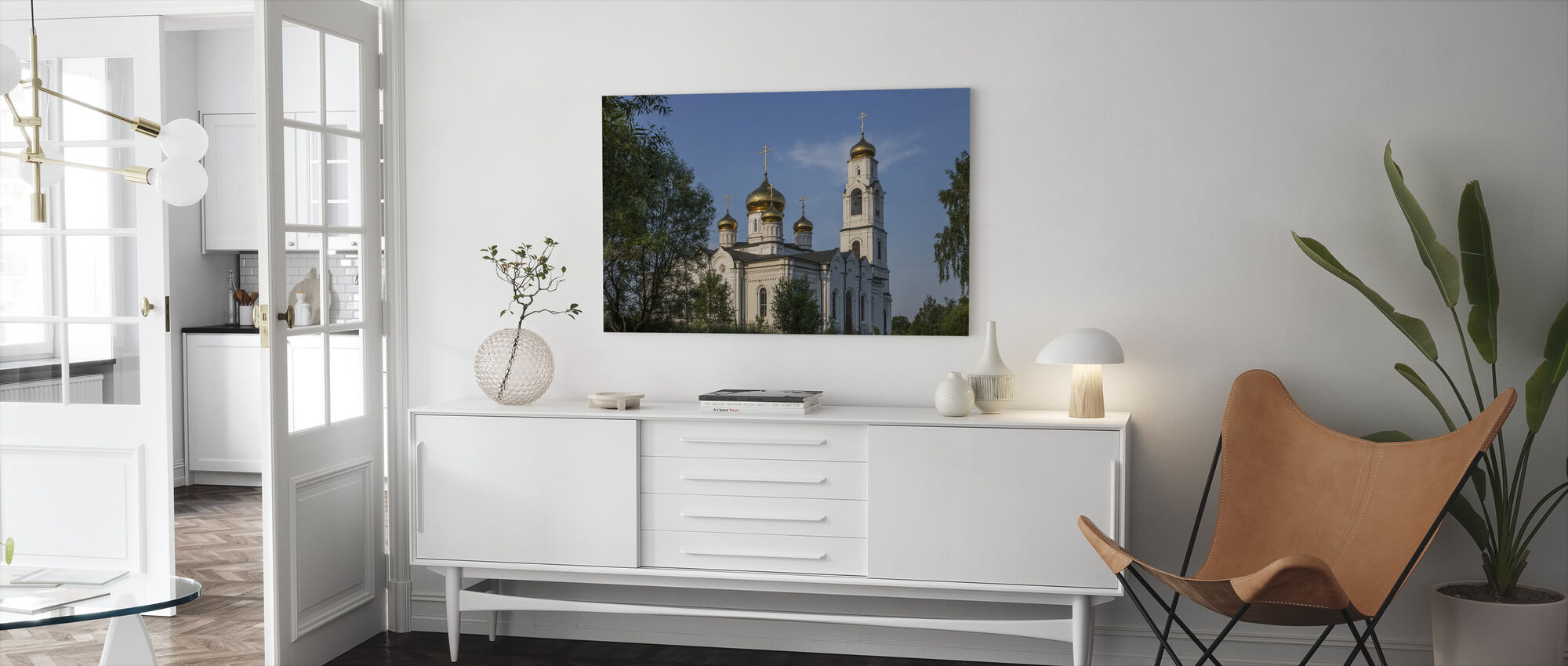 Church of Saint Nicholas, Moscow - Canvas print - Living Room