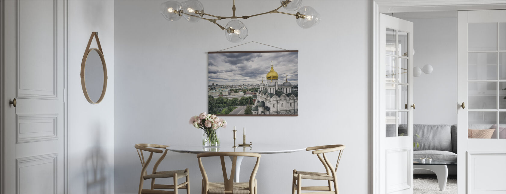 Grey Sky over Kremlin - Poster - Kitchen