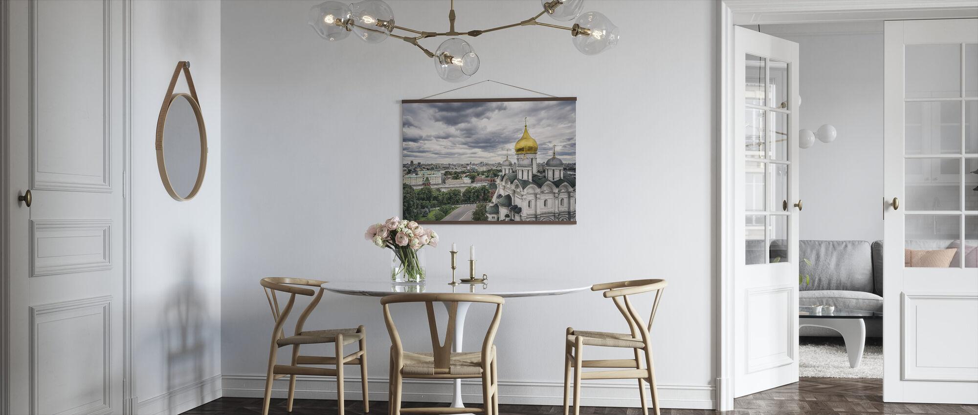 Grey Sky over Kremlin - Poster - Kitchen