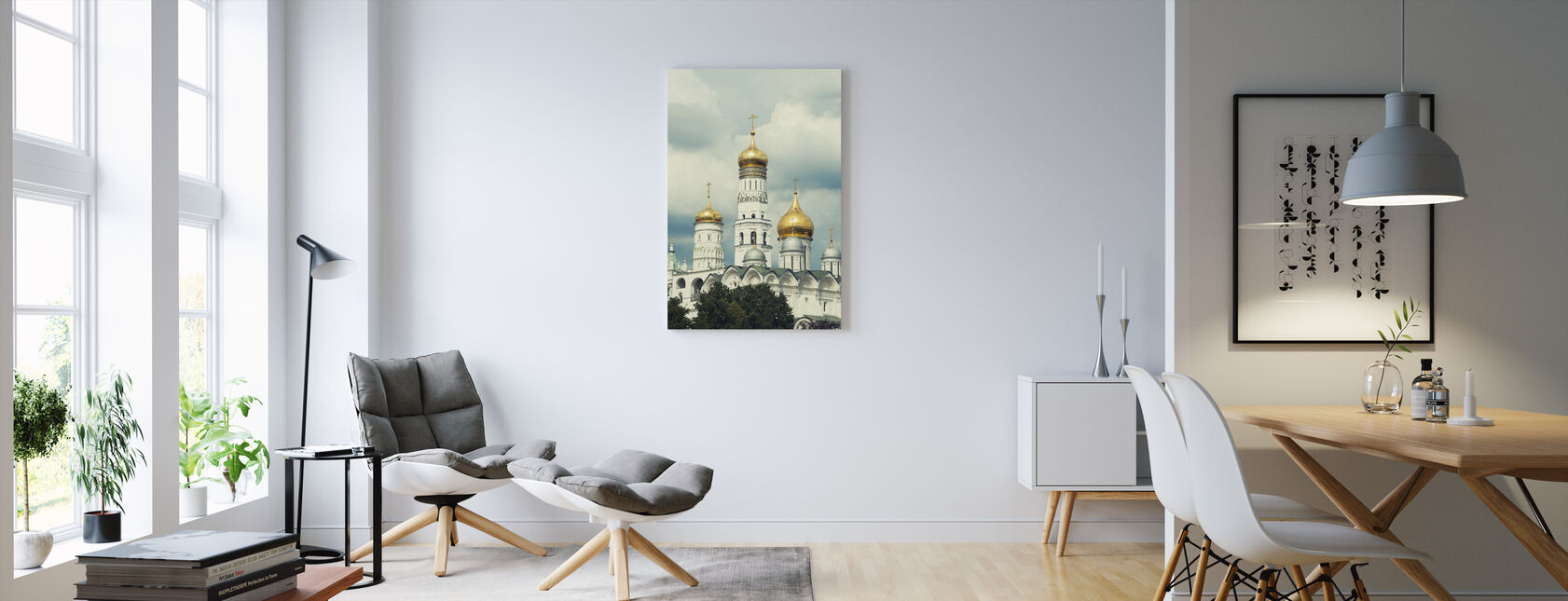 Ivan the Great Bell Tower in Moscow - Canvas print - Living Room